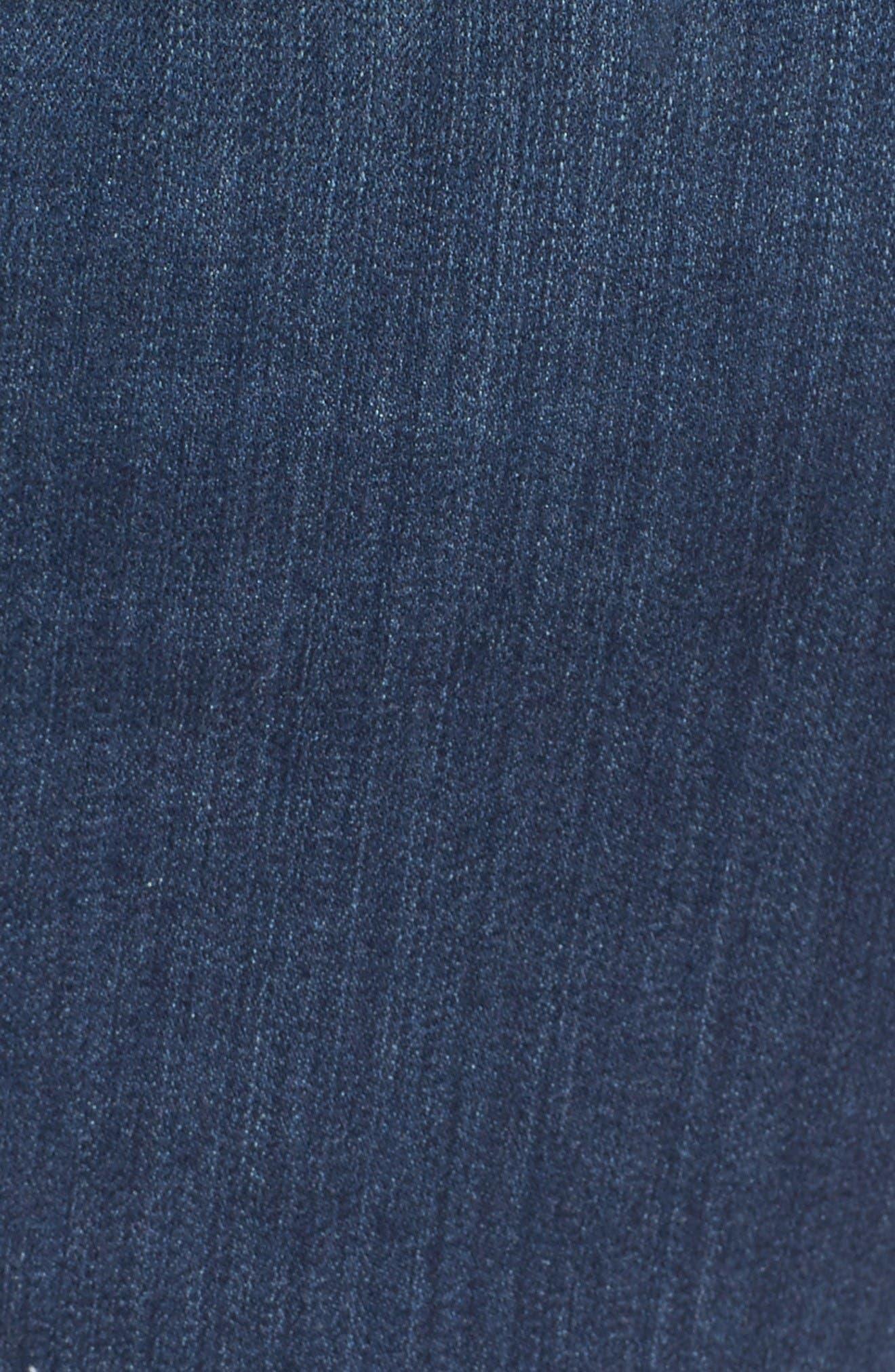 Alternate Image 5  - NYDJ Ami Release Hem Stretch Skinny Jeans (Plus Size)