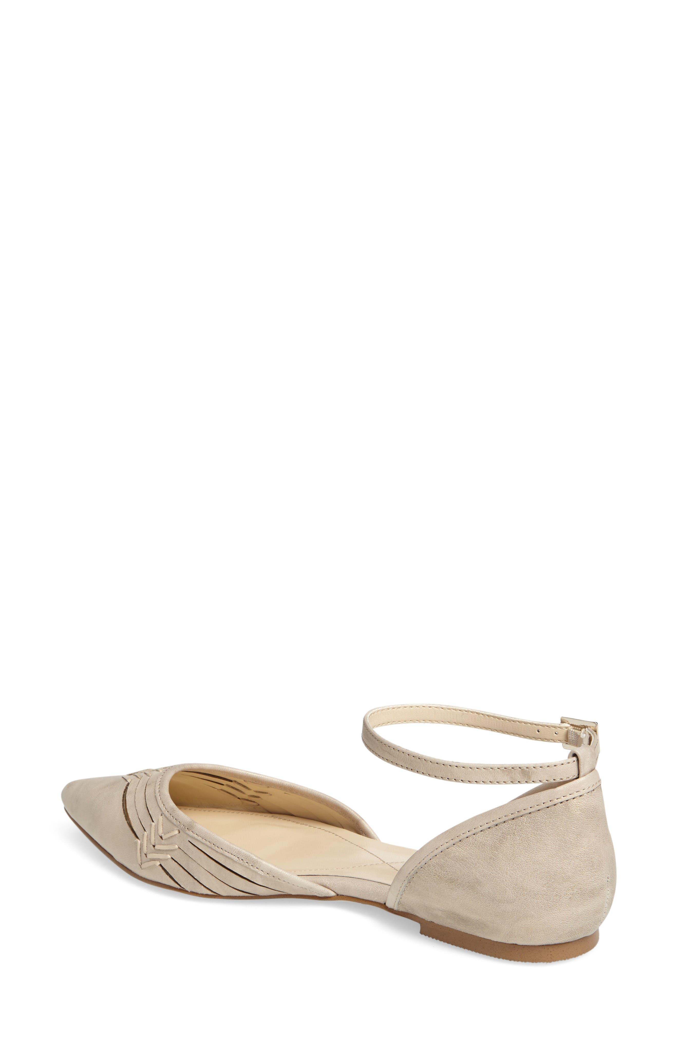 Alternate Image 2  - Isolá Cellino Ankle Strap Flat (Women)