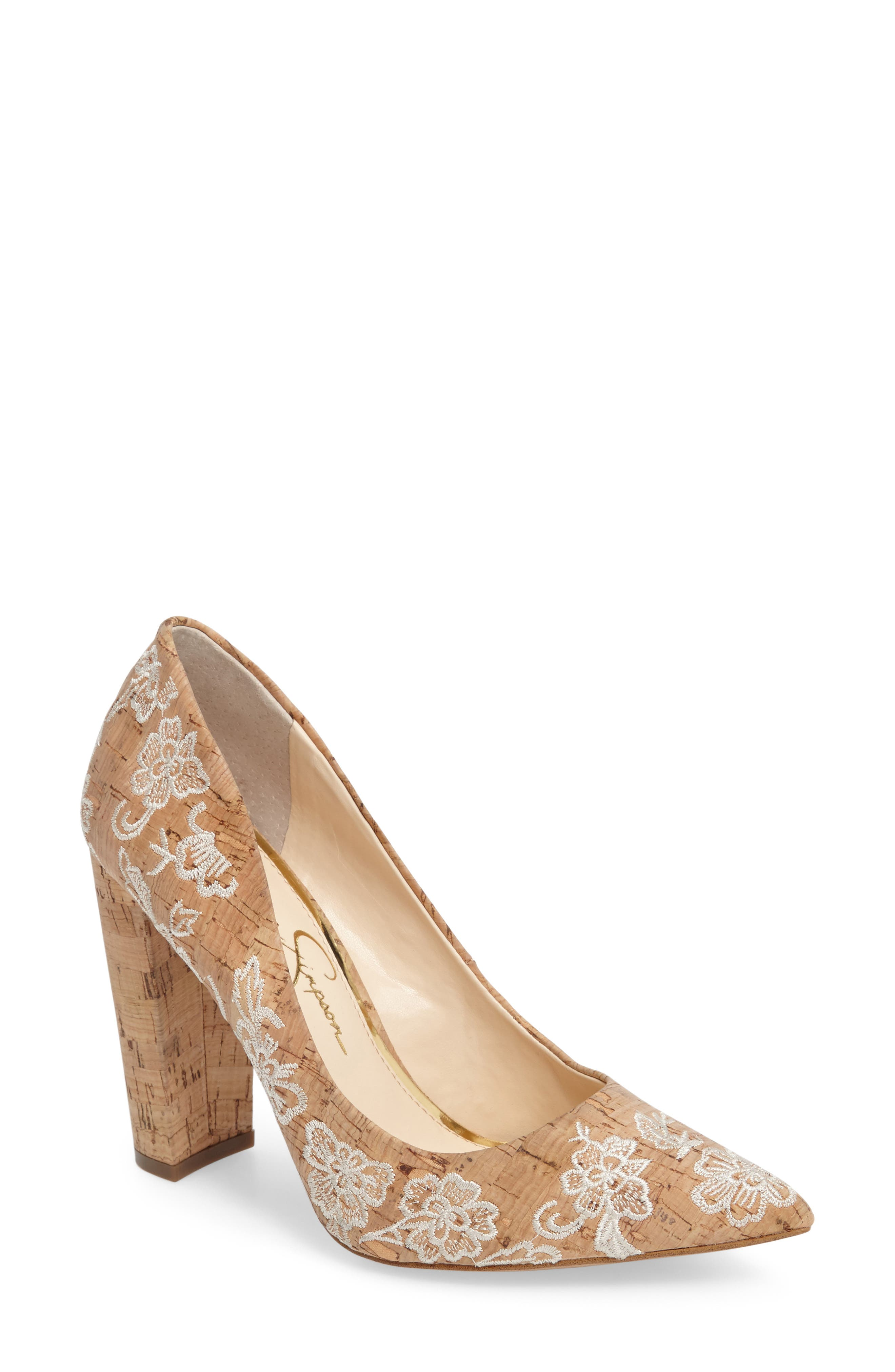 Jessica Simpson Tanysha Pointy Toe Pump (Women)