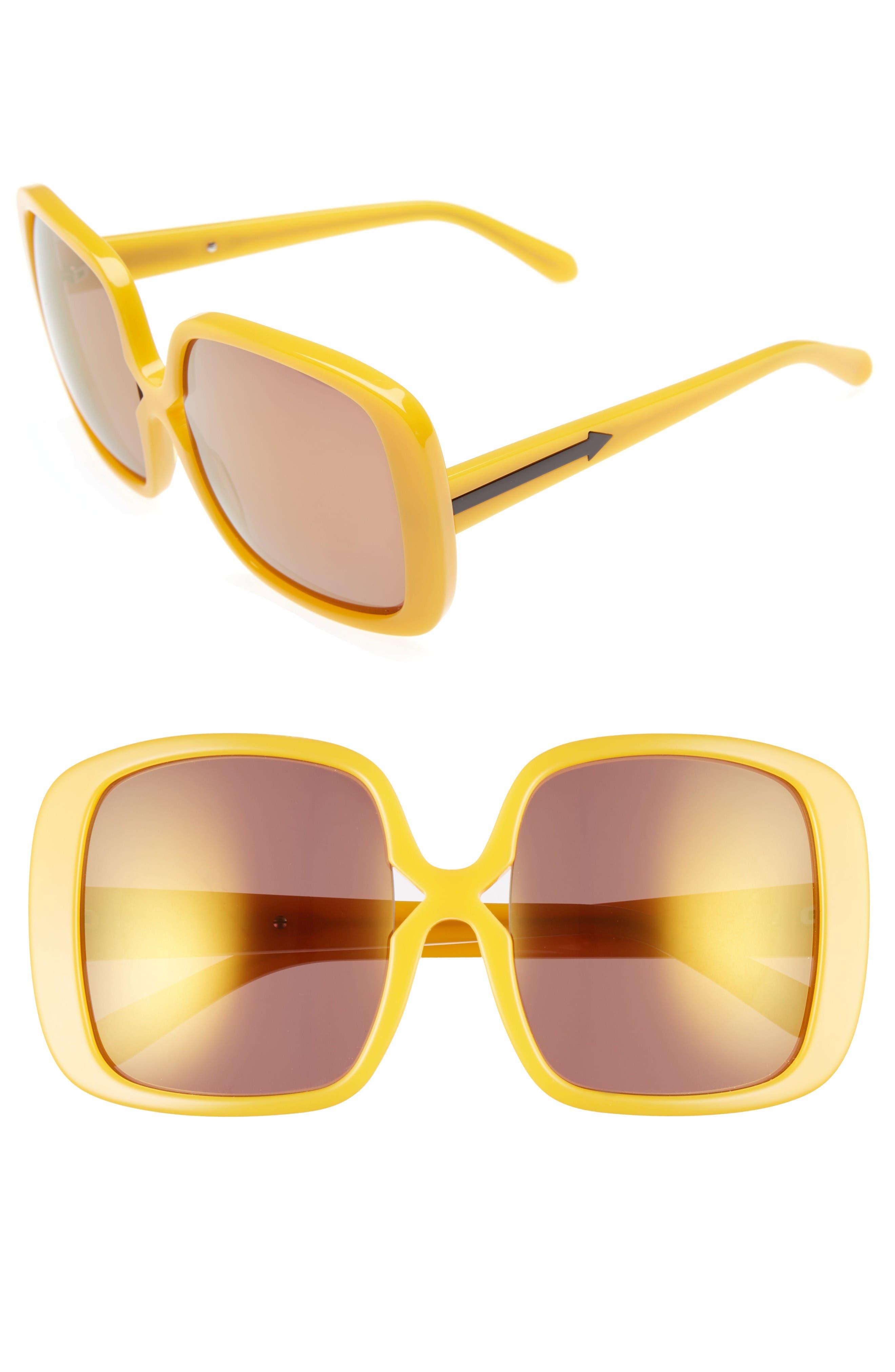 Alternate Image 1 Selected - Karen Walker Marques 55mm Square Sunglasses