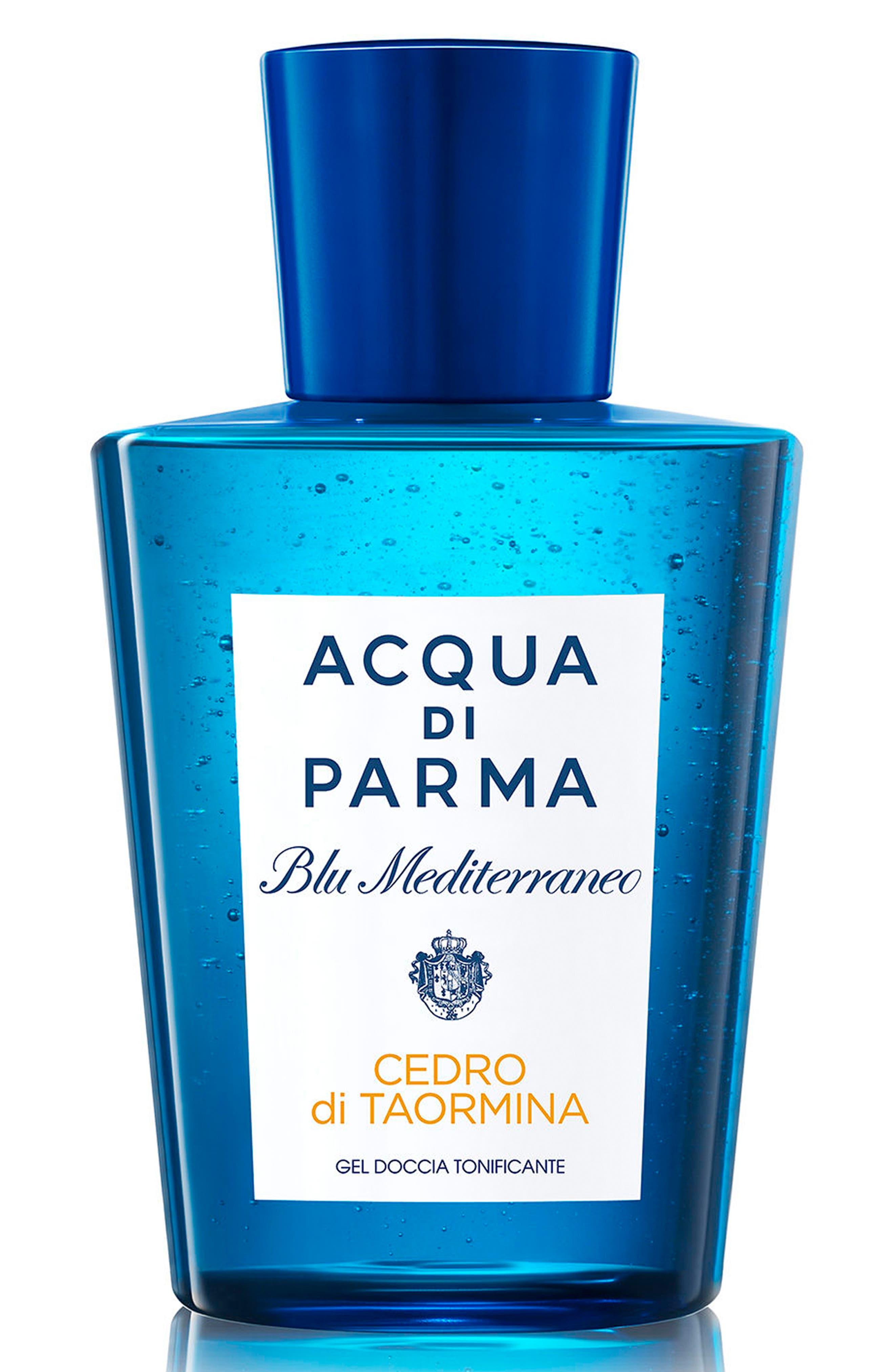 'Blu Mediterraneo Cedro di Taormina' Invigorating Shower Gel,                             Main thumbnail 1, color,                             No Color