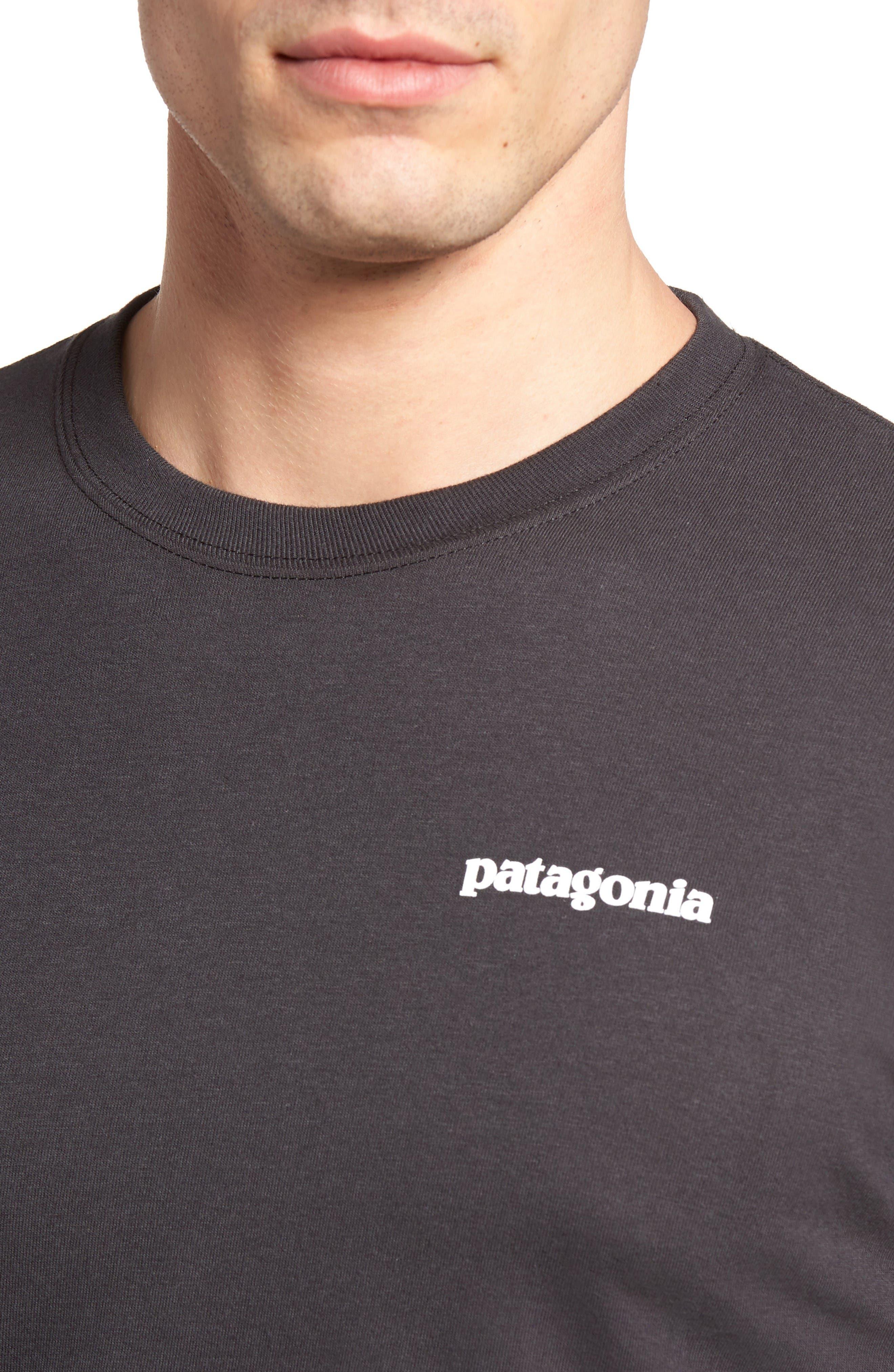 Alternate Image 4  - Patagonia P-6 Logo Organic Cotton T-Shirt