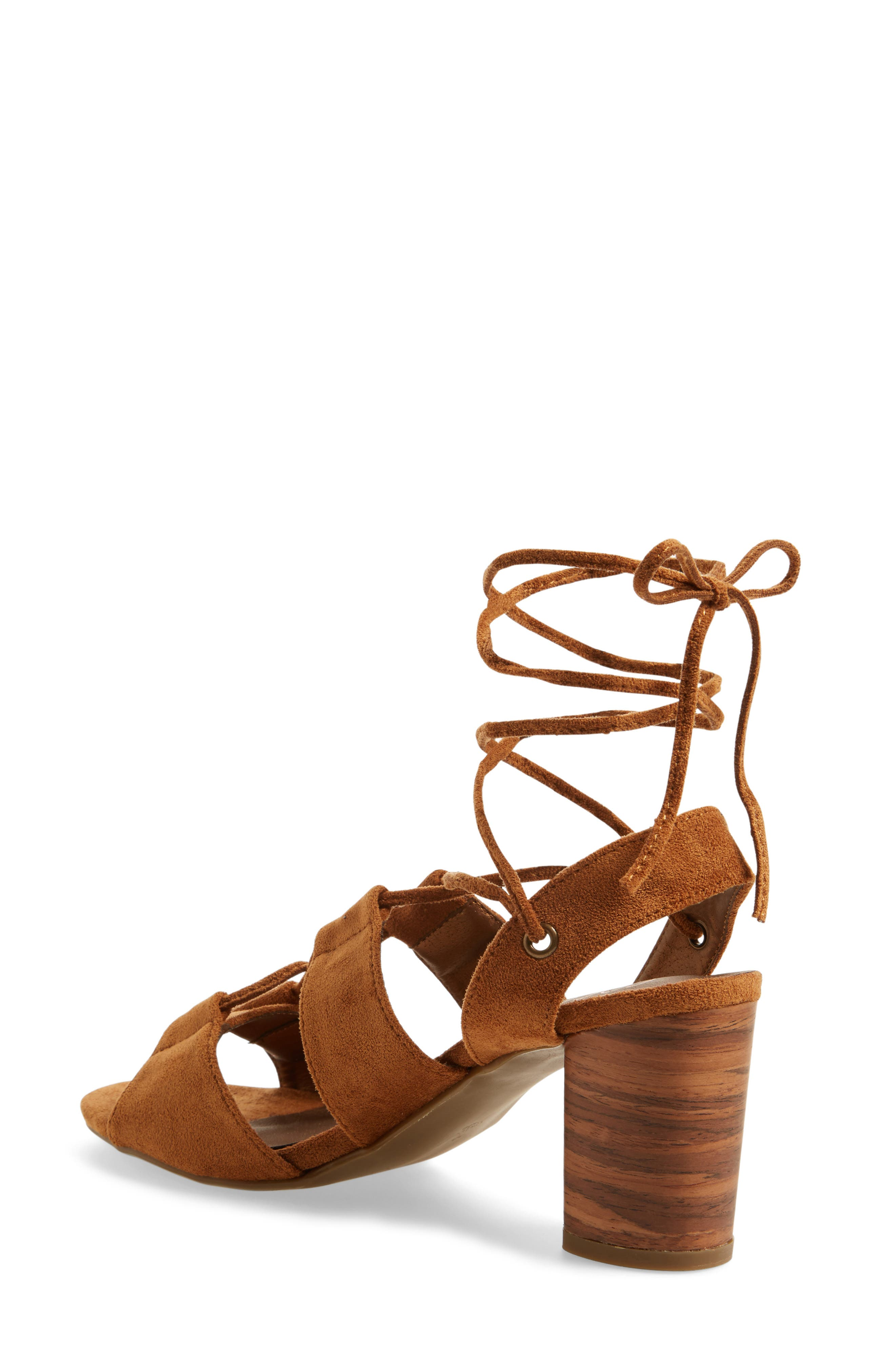 Coconuts by Matisse City Sandal,                             Alternate thumbnail 2, color,                             Saddle Suede