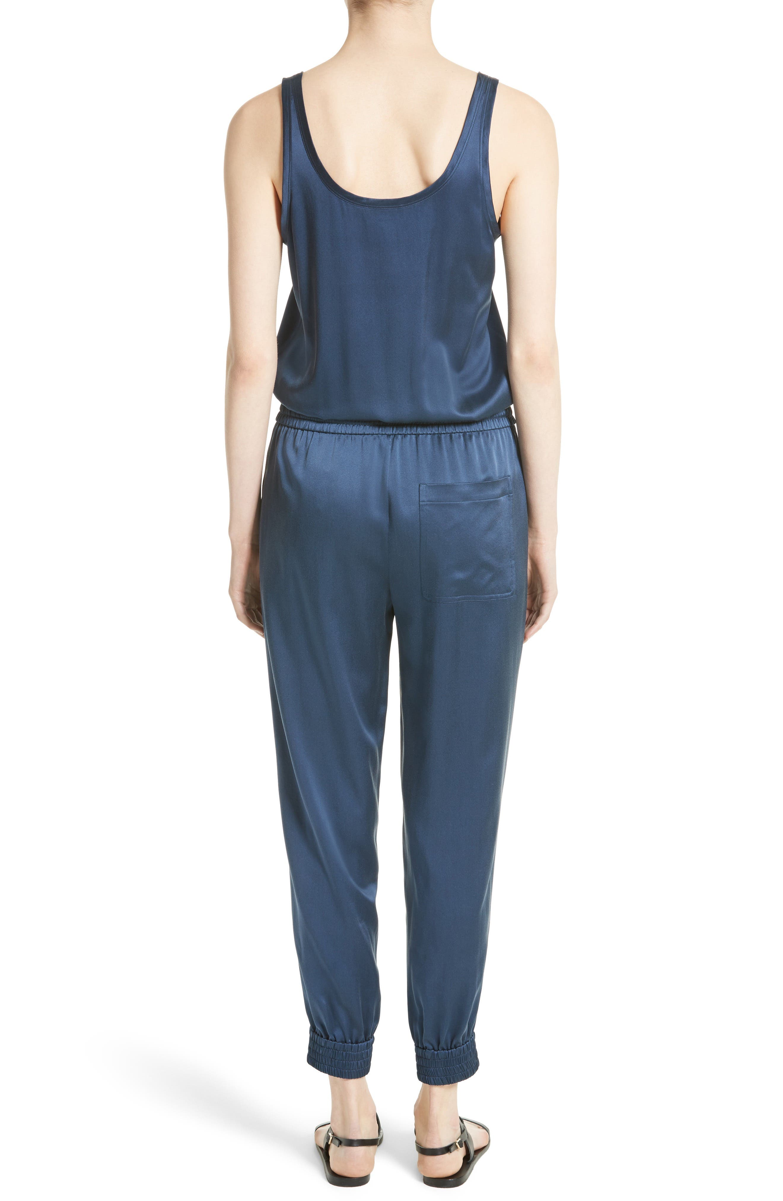 Alternate Image 3  - Theory Hekuba Silk Jumpsuit
