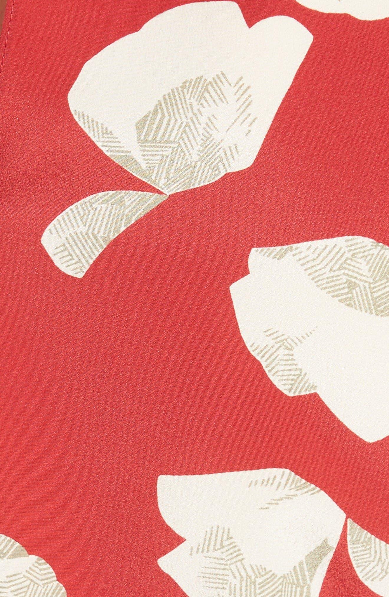 Alternate Image 5  - Theory Zabetha Harper Print Silk Top