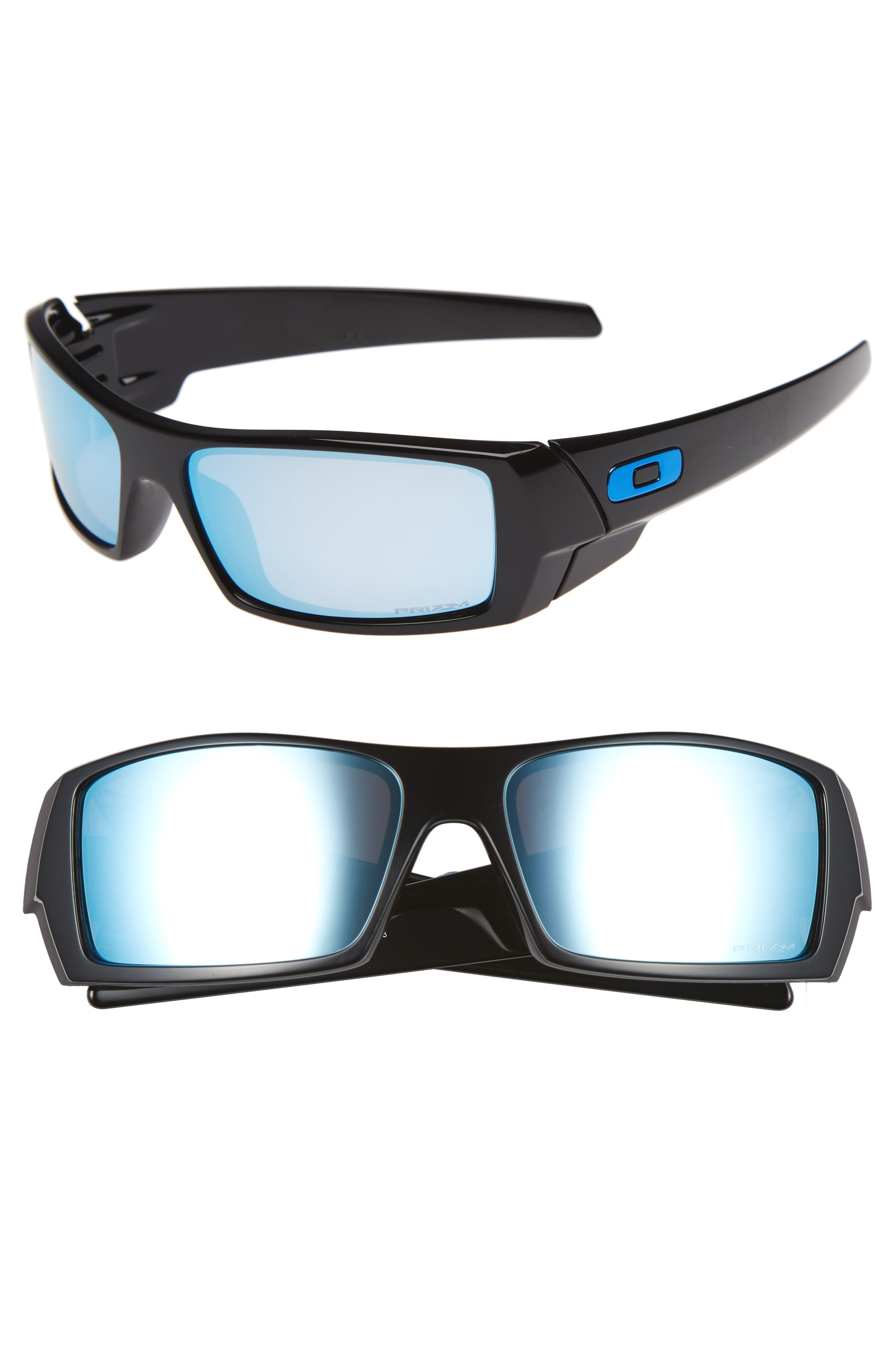 Gascan Prizm 60mm Polarized Sunglasses,                         Main,                         color, Black