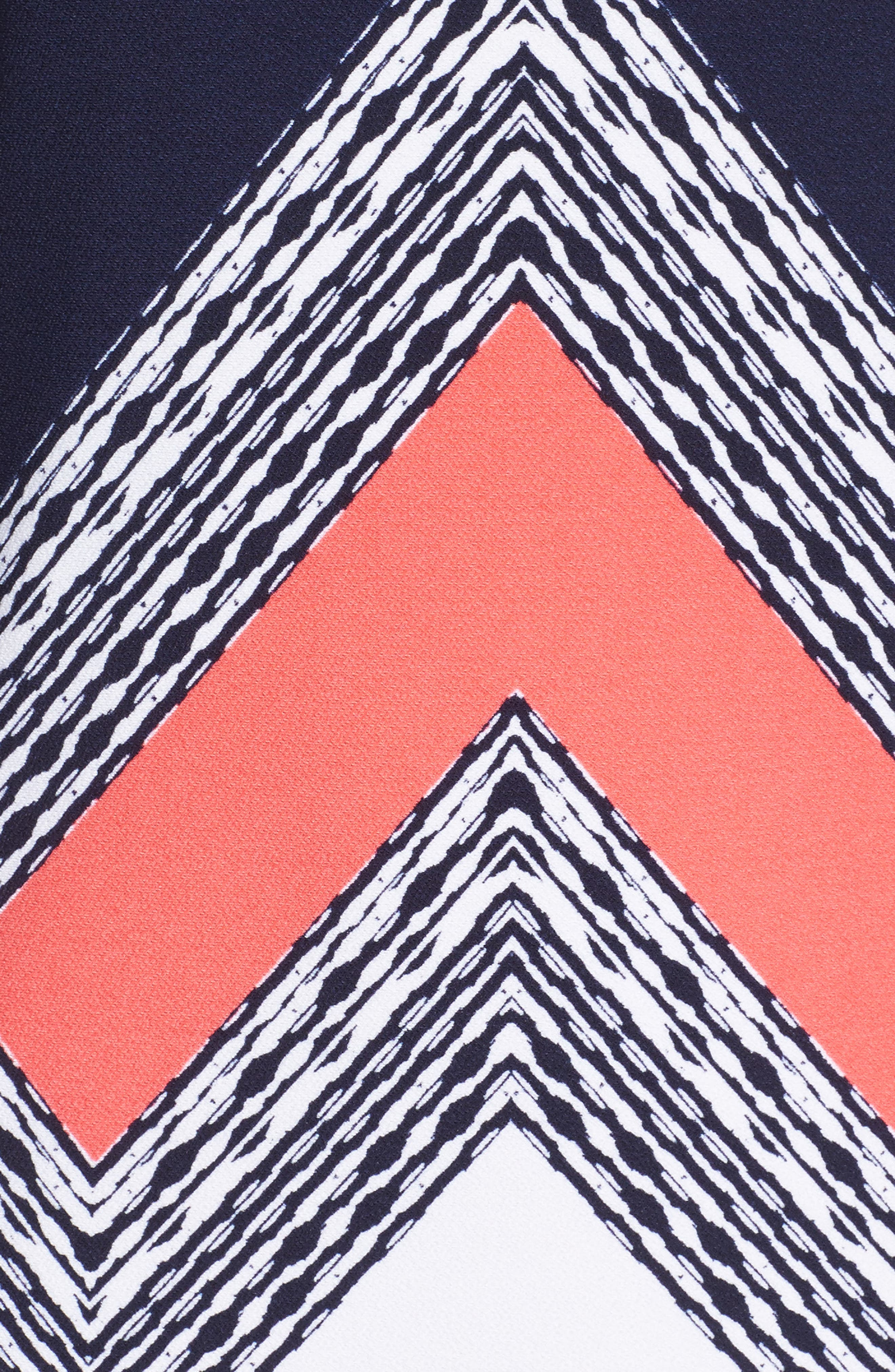 Alternate Image 6  - Vince Camuto Crepe Shift Dress