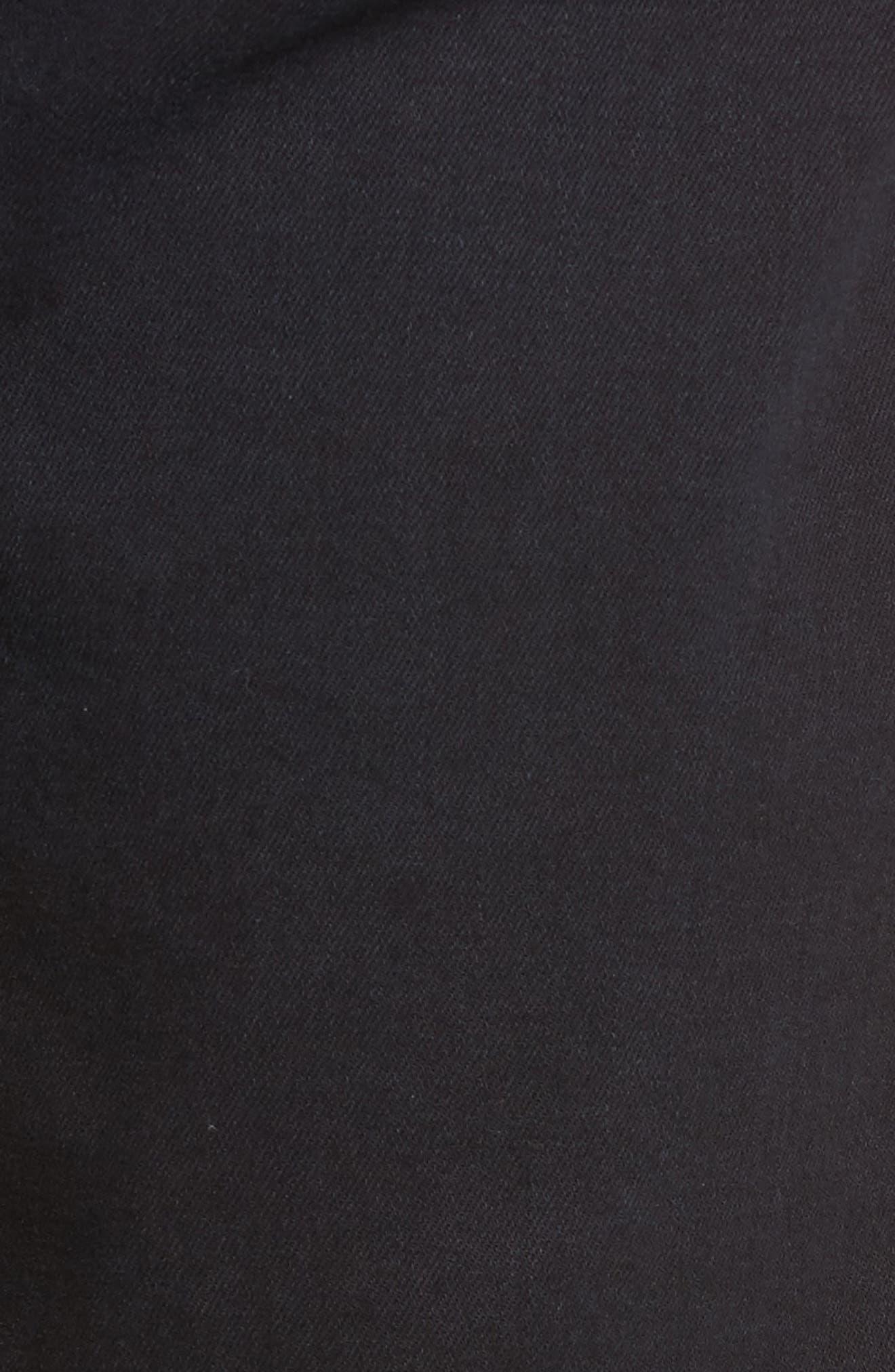 Alternate Image 5  - Mavi Jeans Zach Straight Leg Jeans (E Black Williamsburg)