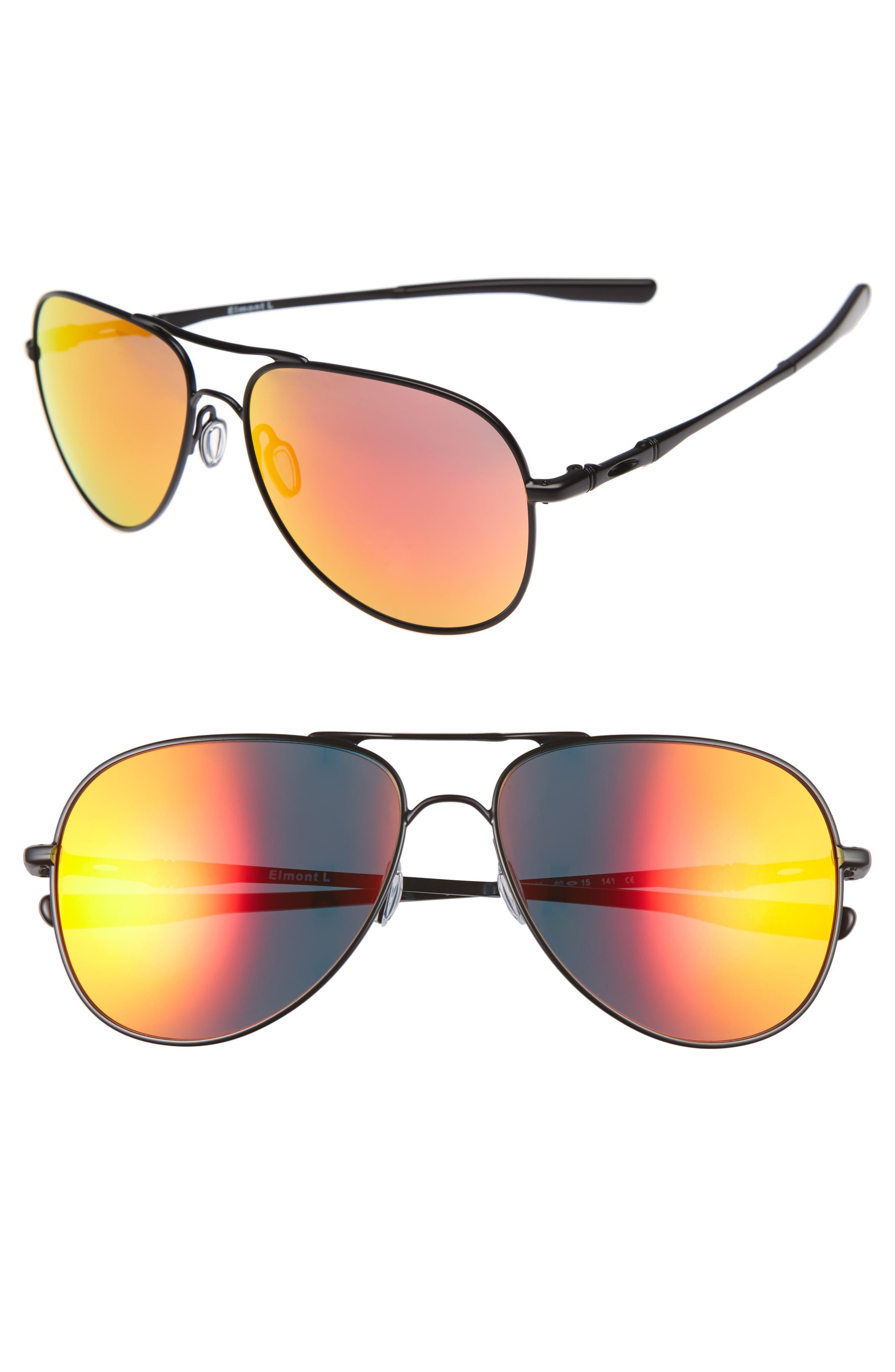 OAKLEY Elmont 61mm Aviator Sunglasses