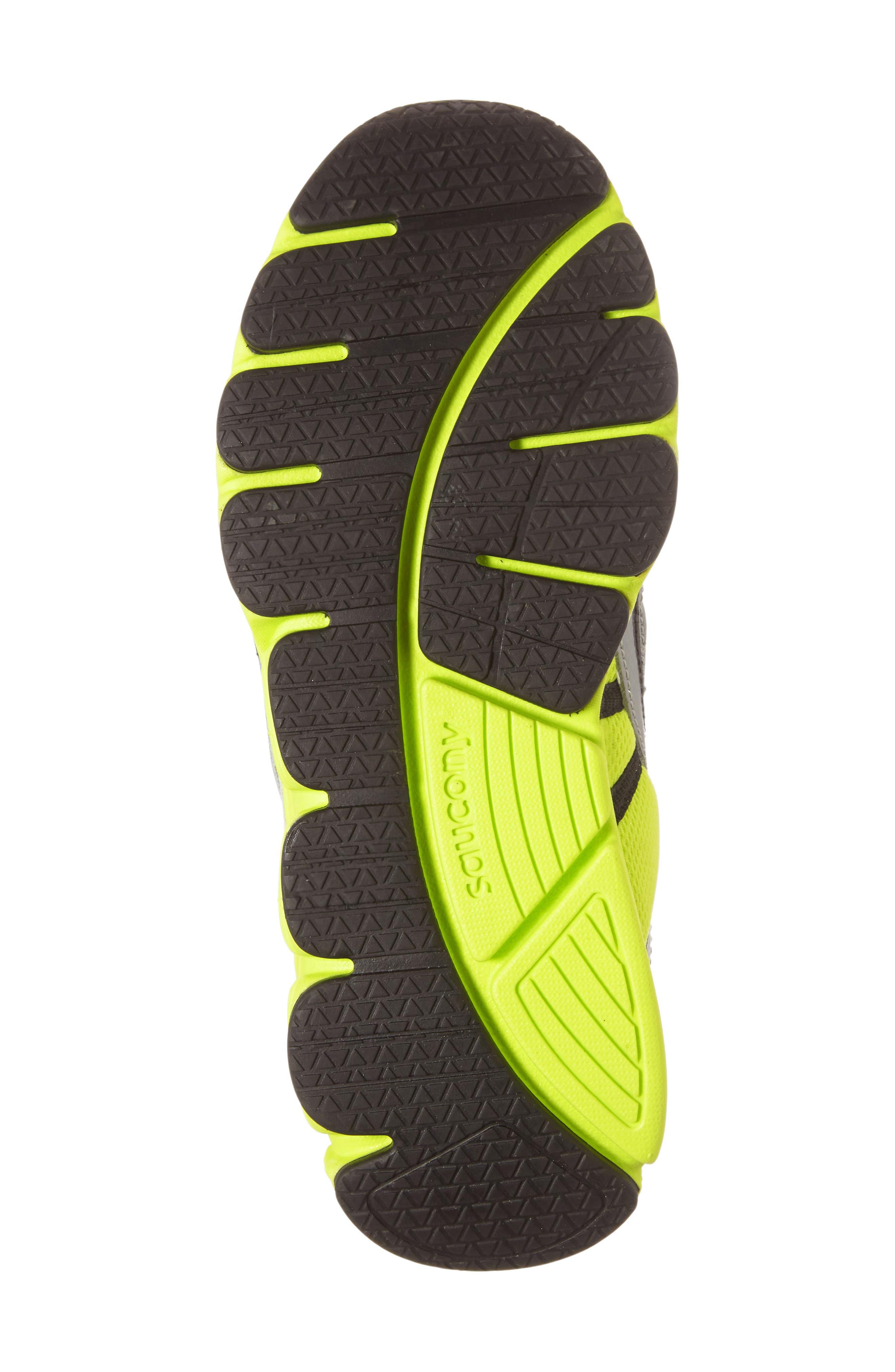 Kotaro 3 A/C Athletic Sneaker,                             Alternate thumbnail 4, color,                             Grey/ Lime