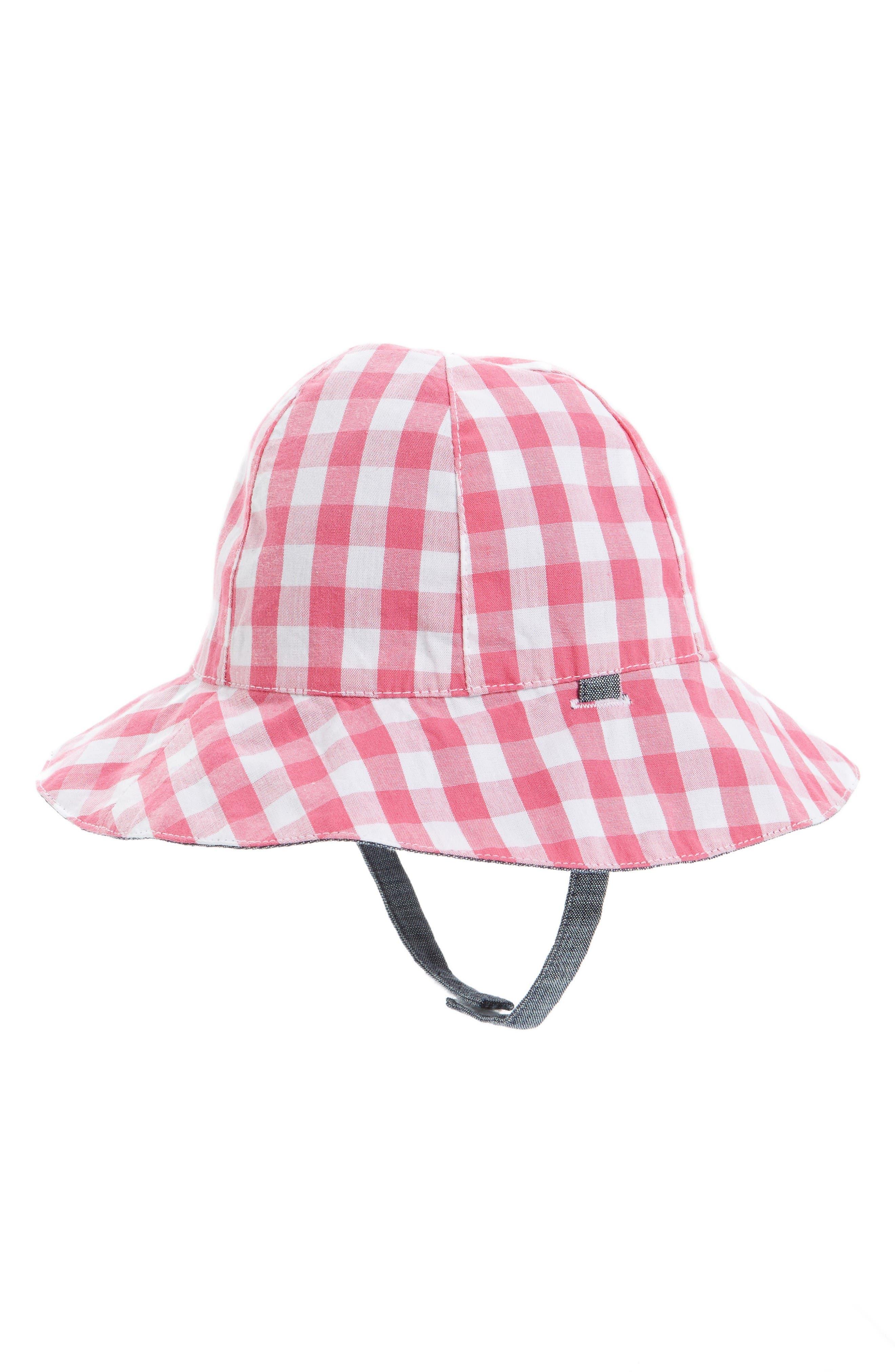 Tucker + Tate Reversible Plaid Sun Hat (Baby)