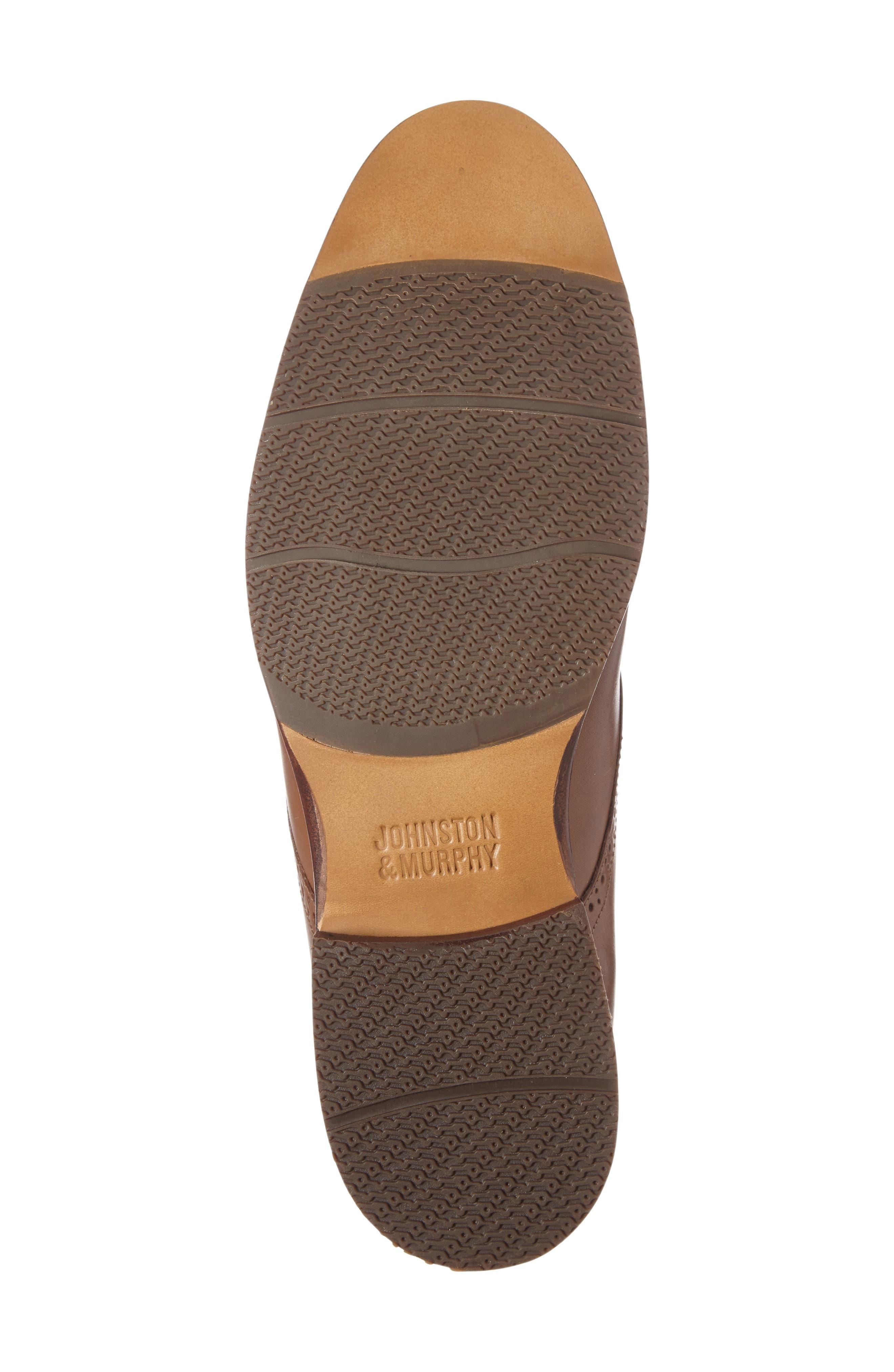 Alternate Image 4  - Johnston & Murphy Garner Cap Toe Chukka Boot (Men)