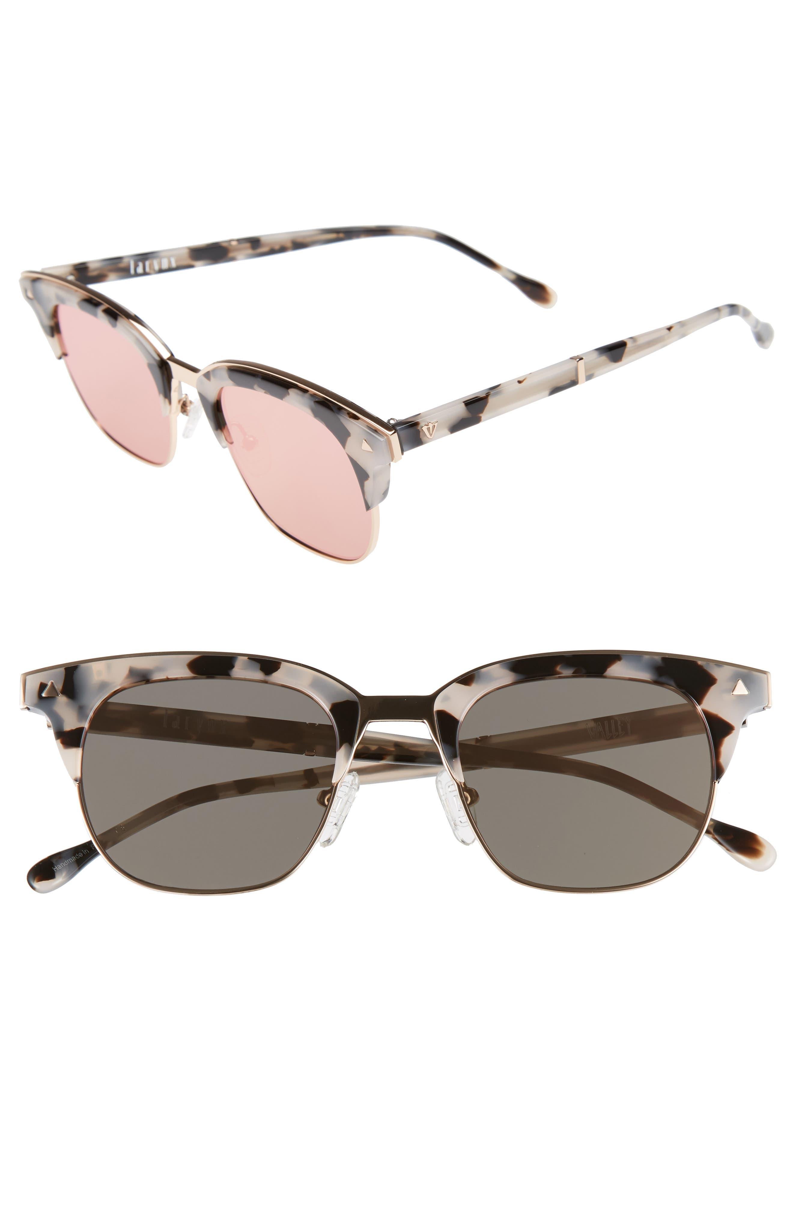 VALLEY Larynx 47mm Retro Sunglasses