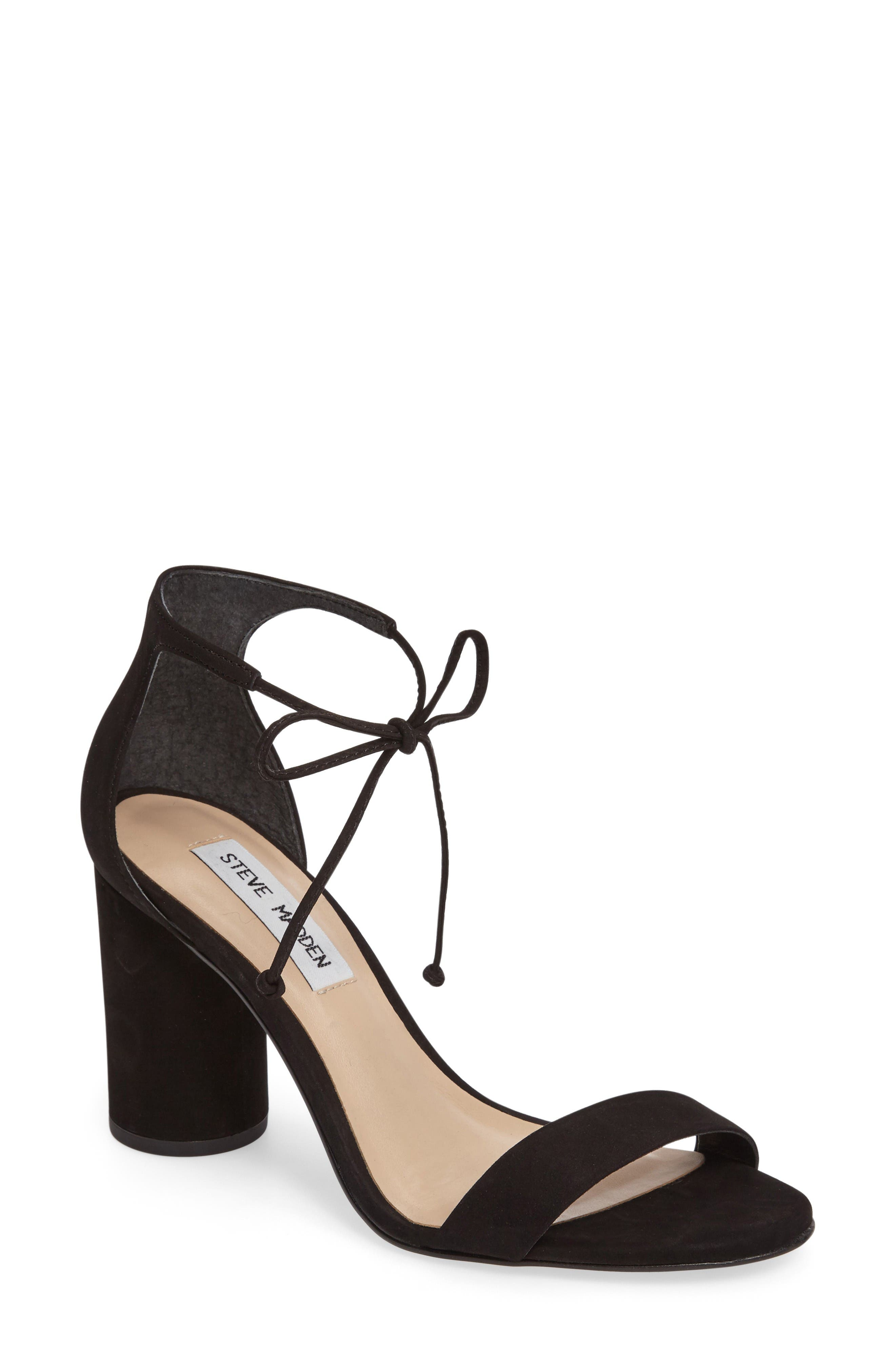 Alternate Image 1 Selected - Steve Madden Shays Lace-Up Sandal (Women)