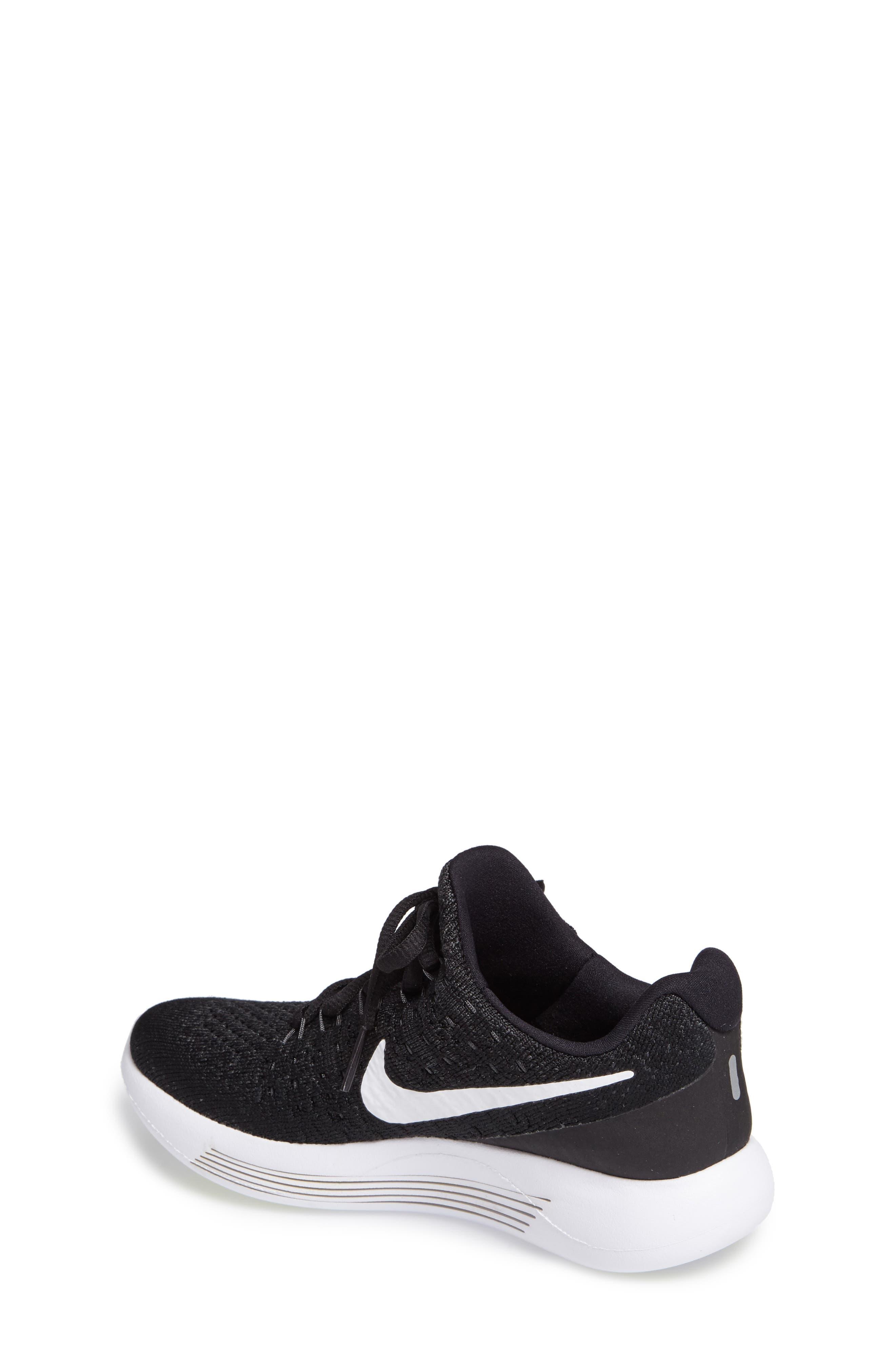 Alternate Image 2  - Nike Flyknit LunarEpic Sneaker (Big Kid) (Regular Retail Price: $115.00)