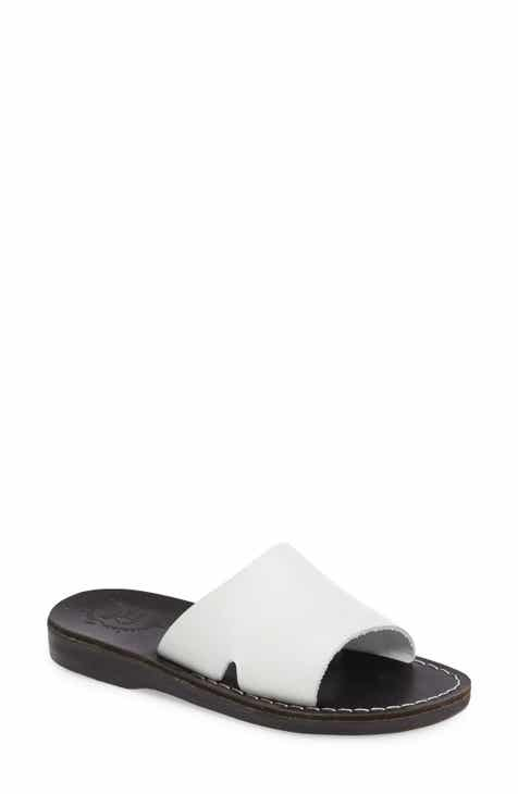 01601faa455c Jerusalem Sandals Bashan Open Toe Slide (Women)