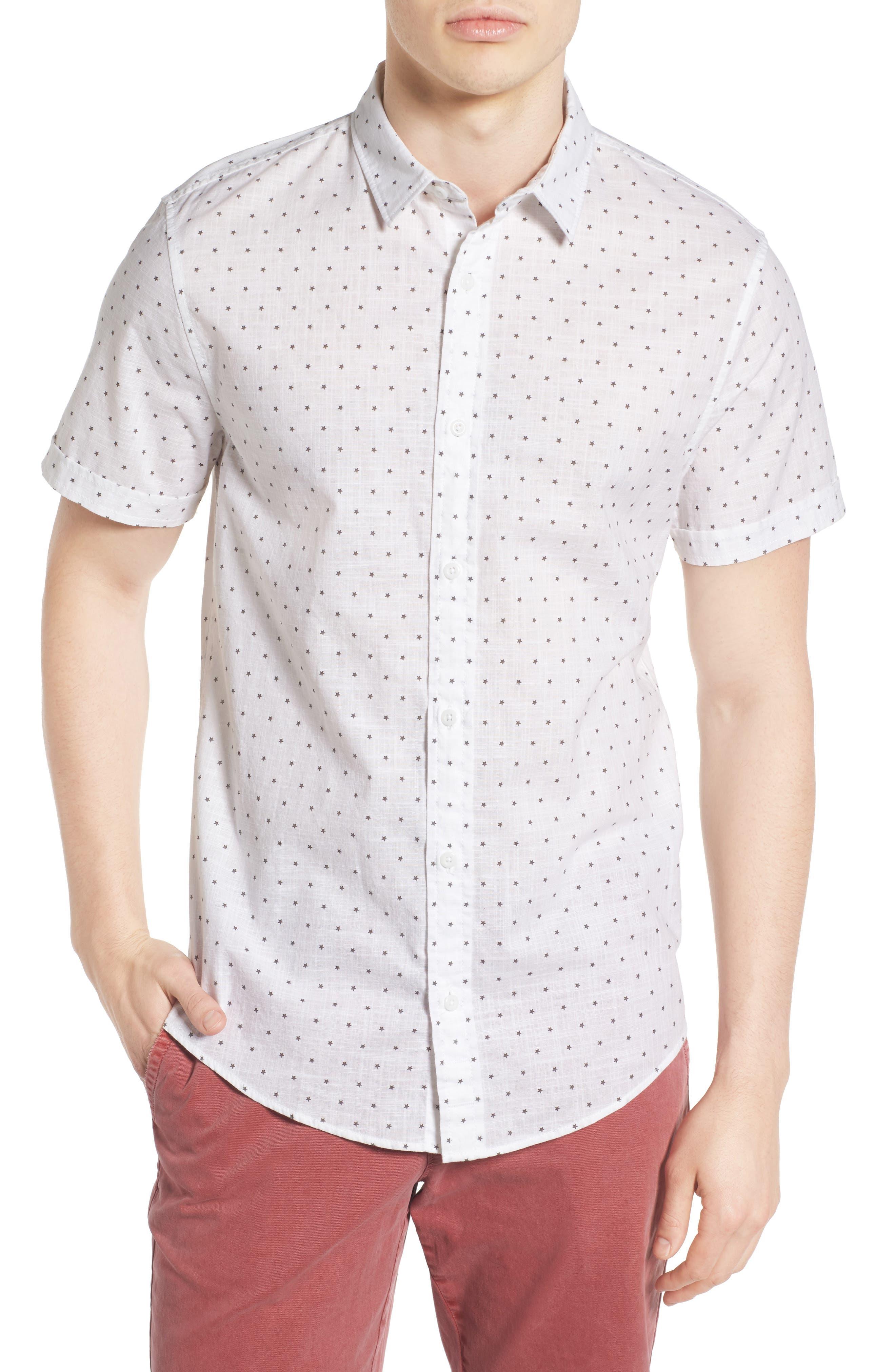 1901 Star Print Woven Shirt
