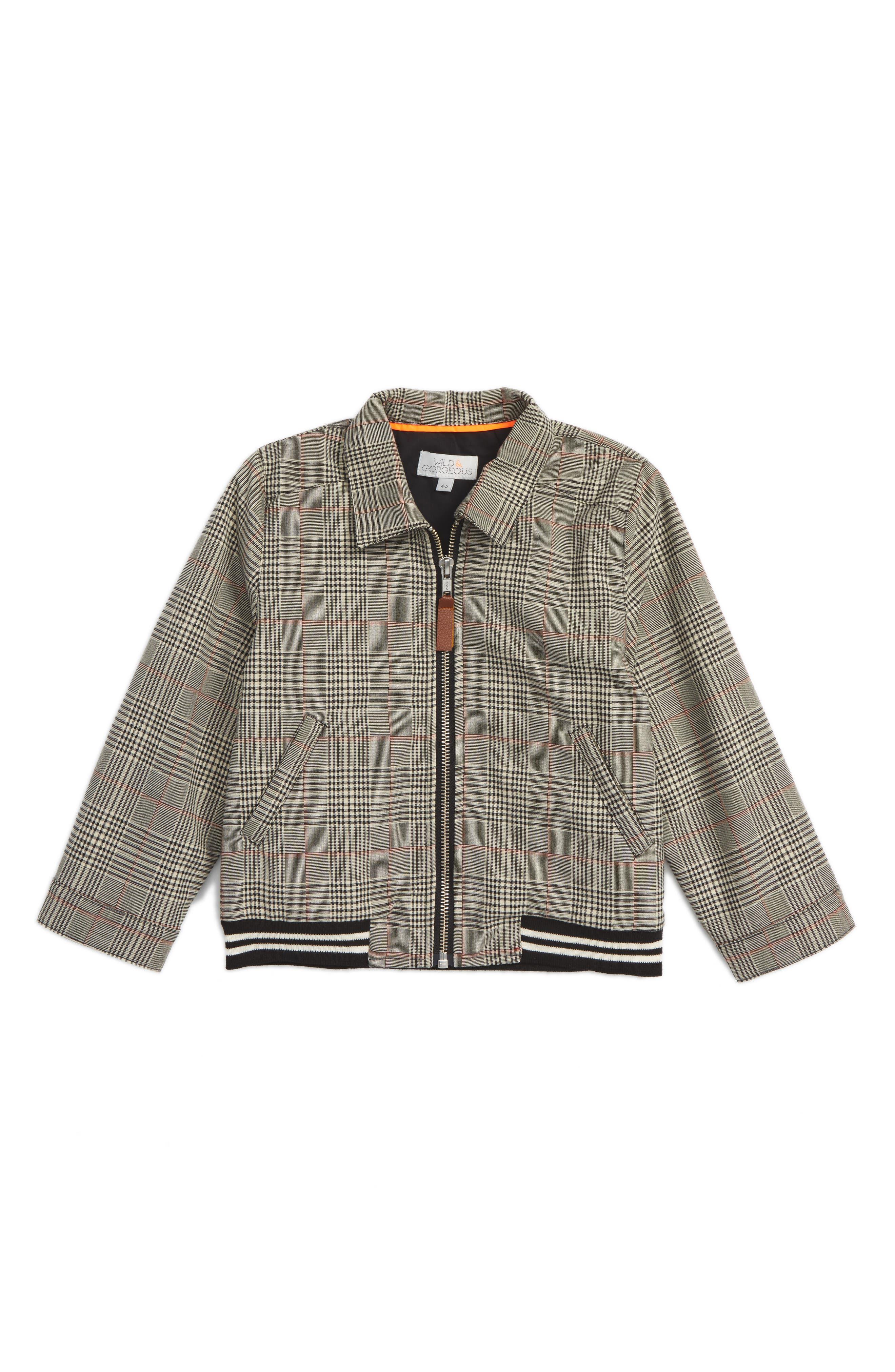 Donald Jacket,                         Main,                         color, Black