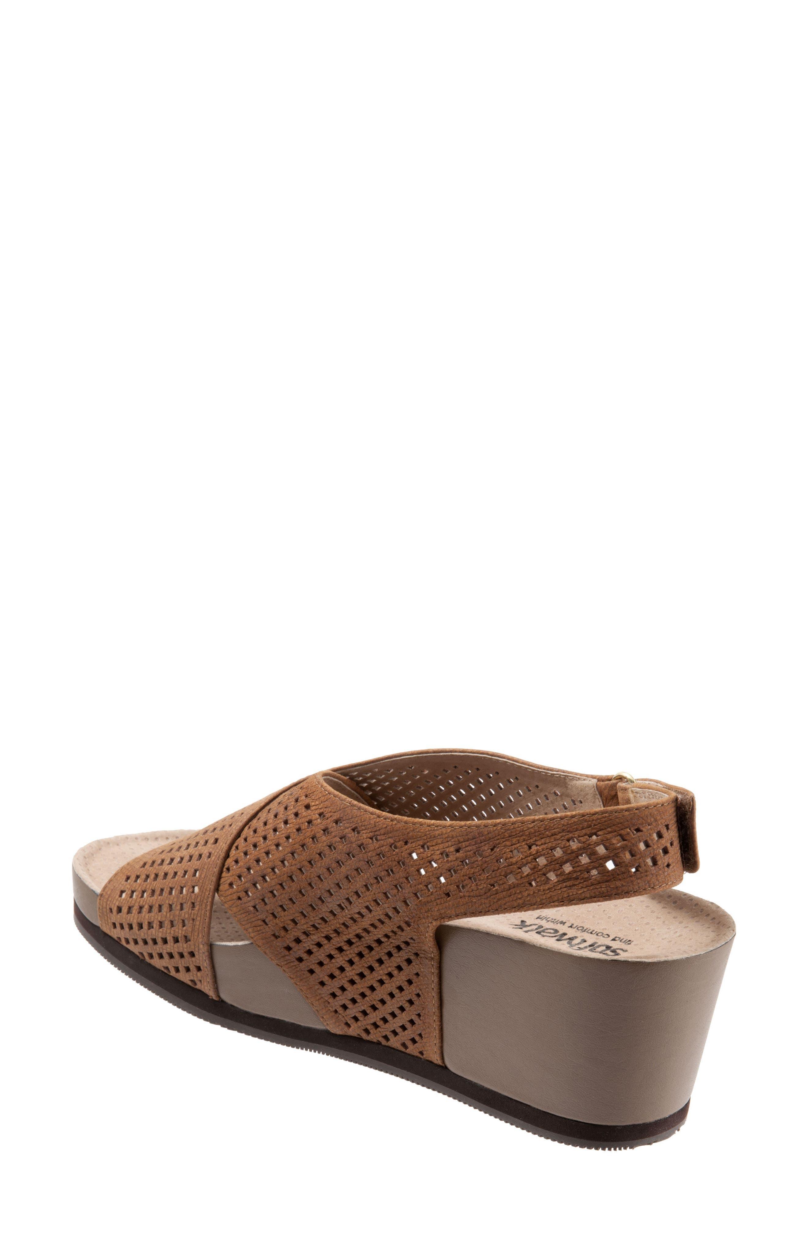 Alternate Image 2  - SoftWalk® Hansford Wedge Sandal (Women)