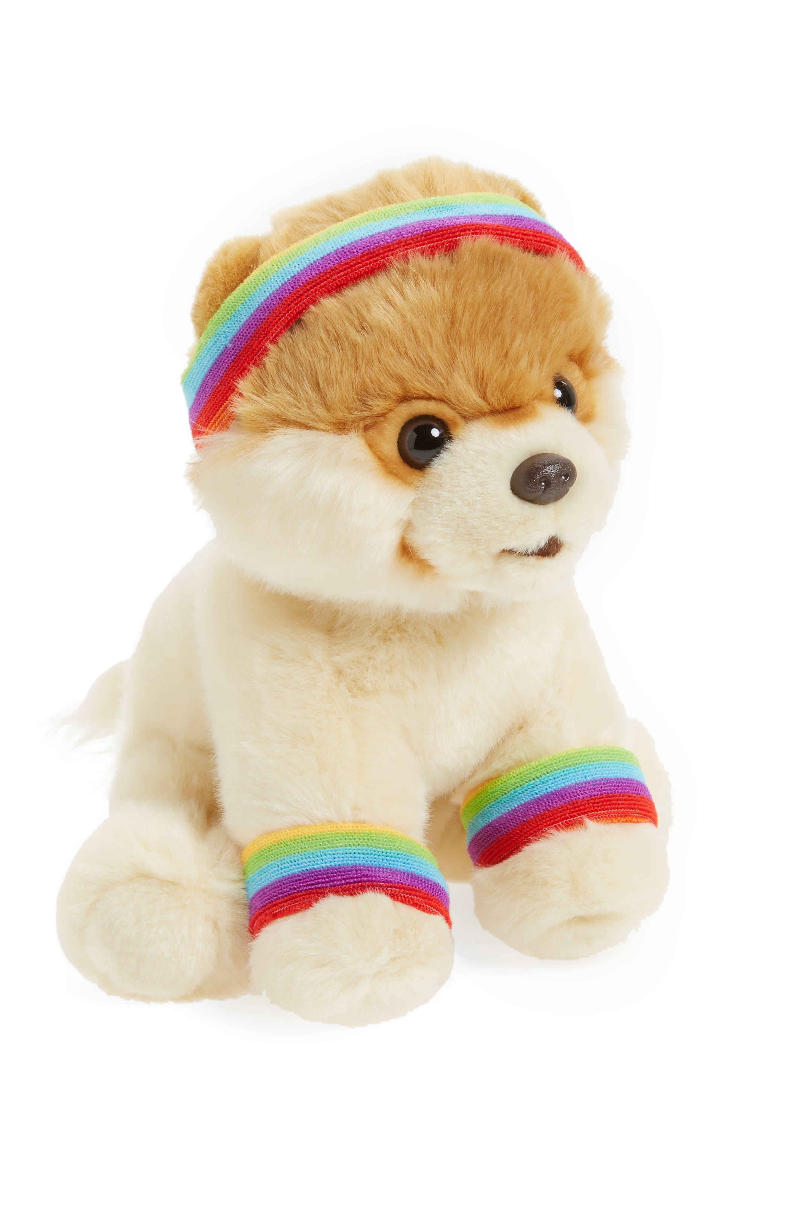 Boo - Exercise Stuffed Animal,                             Main thumbnail 1, color,                             Tan