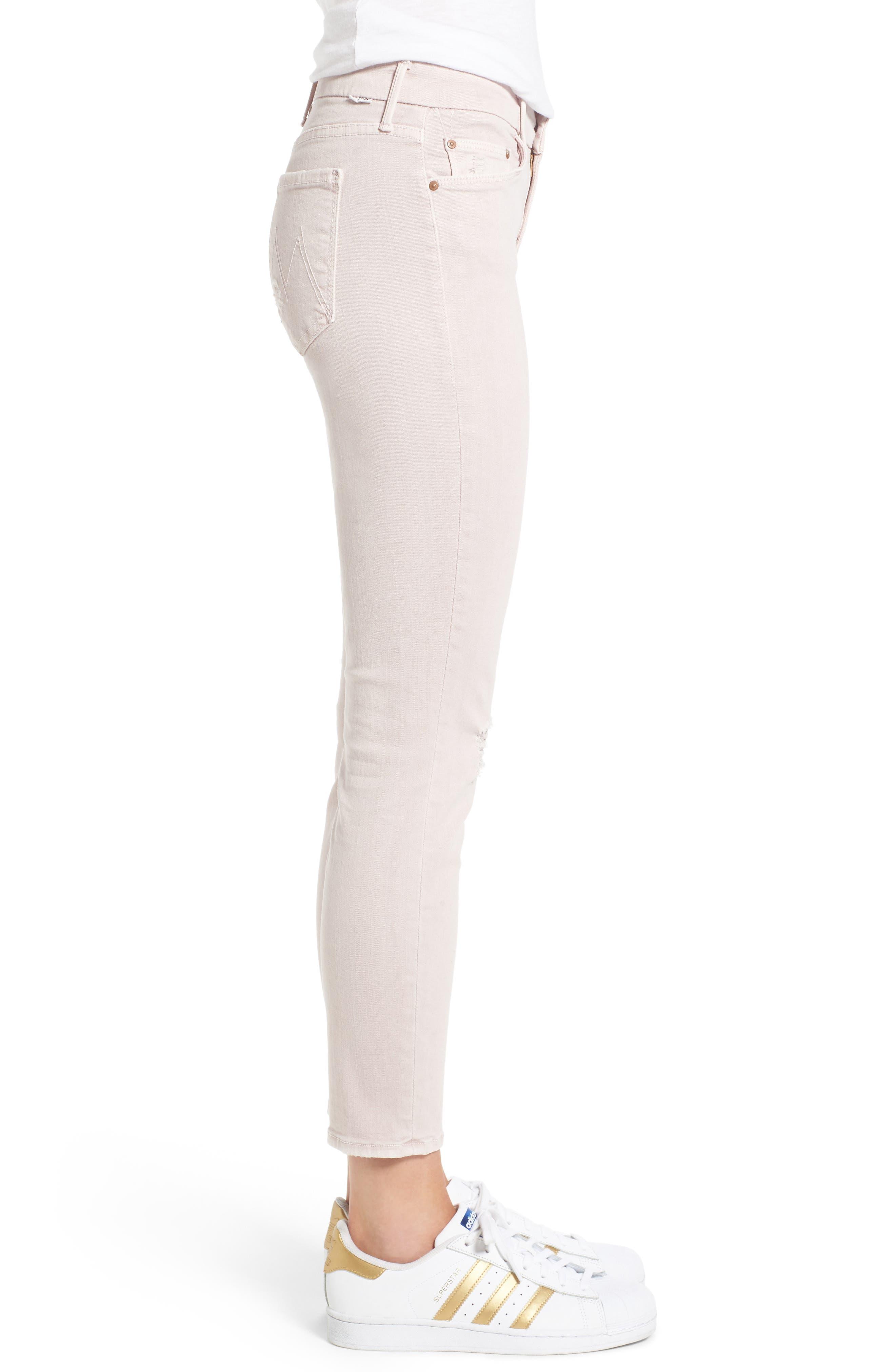 Alternate Image 3  - MOTHER The Looker Crop Skinny Jeans