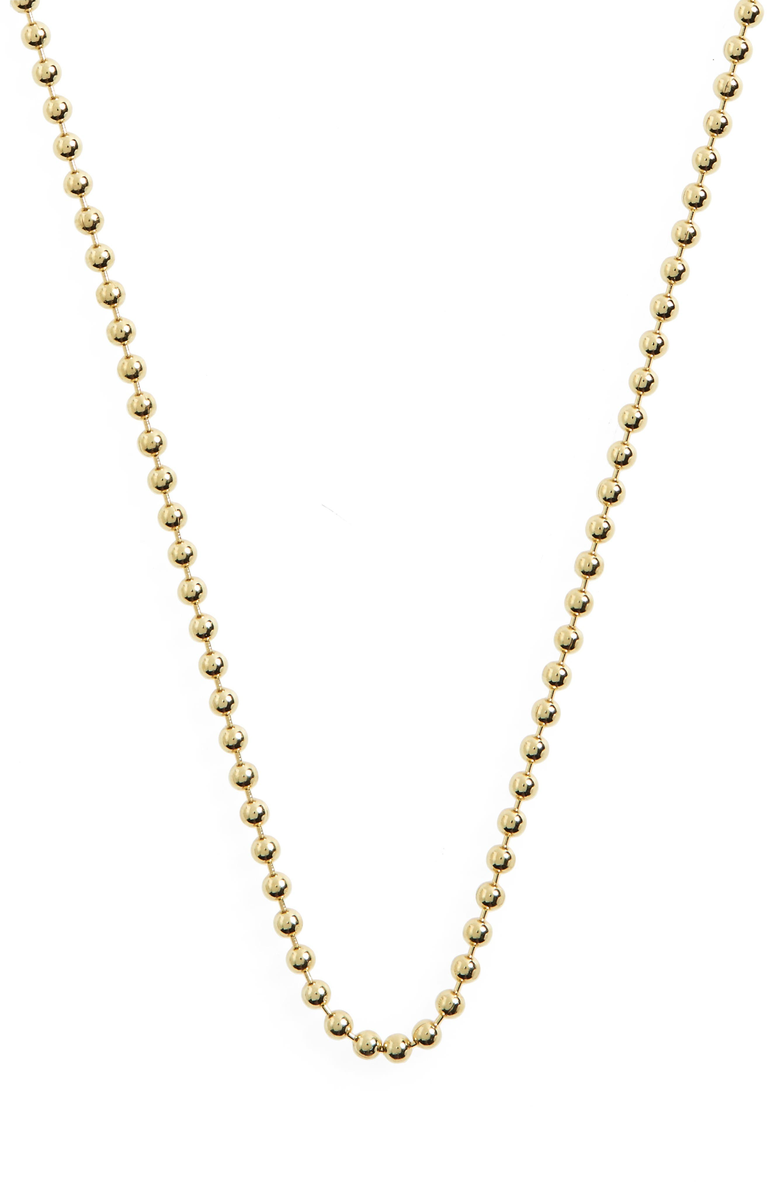 Alternate Image 3  - Temple St. Clair 18-Inch Ball Chain Necklace