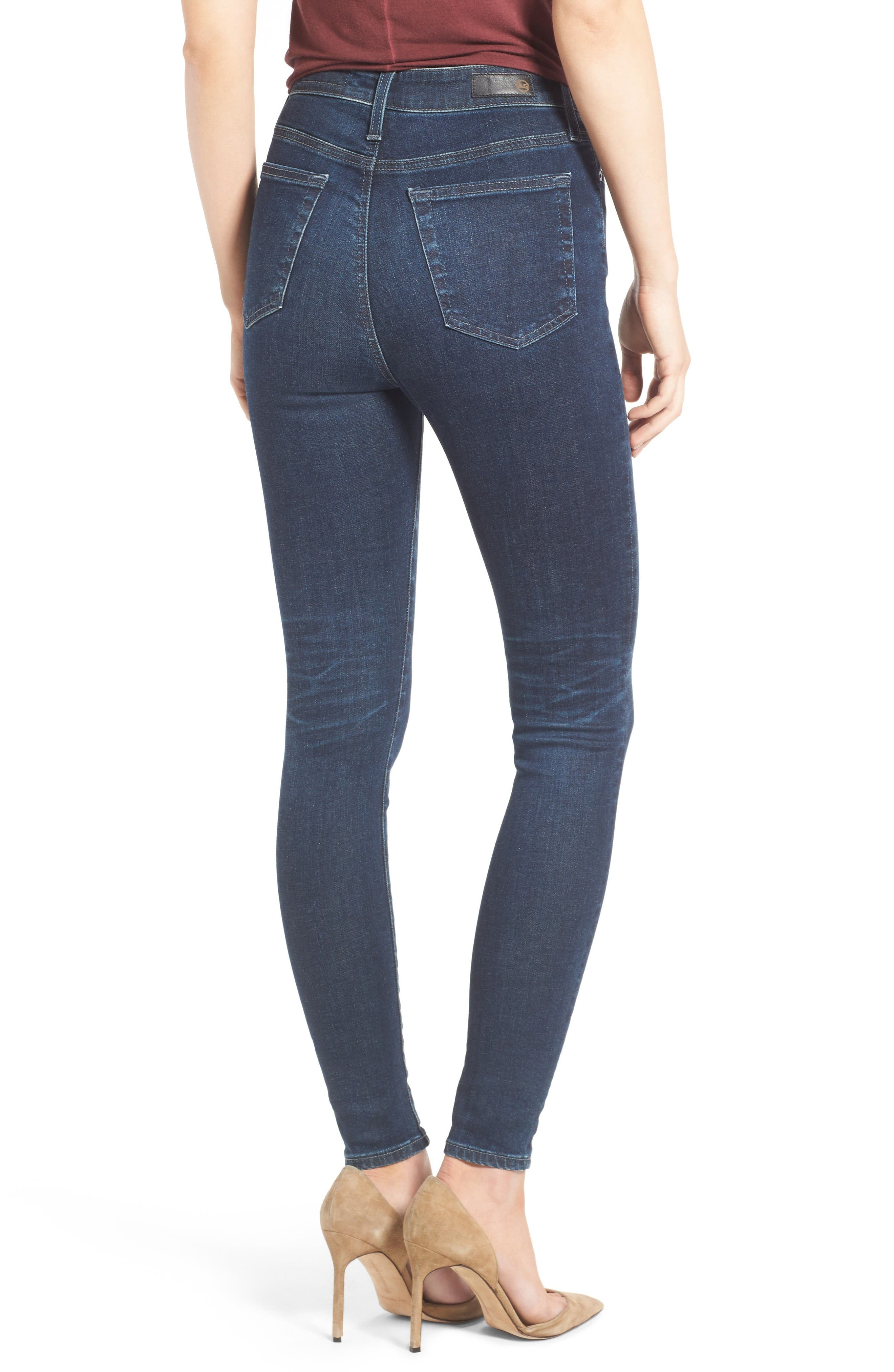 Mila High Rise Skinny Jeans,                             Alternate thumbnail 3, color,                             03Y Rendezvous
