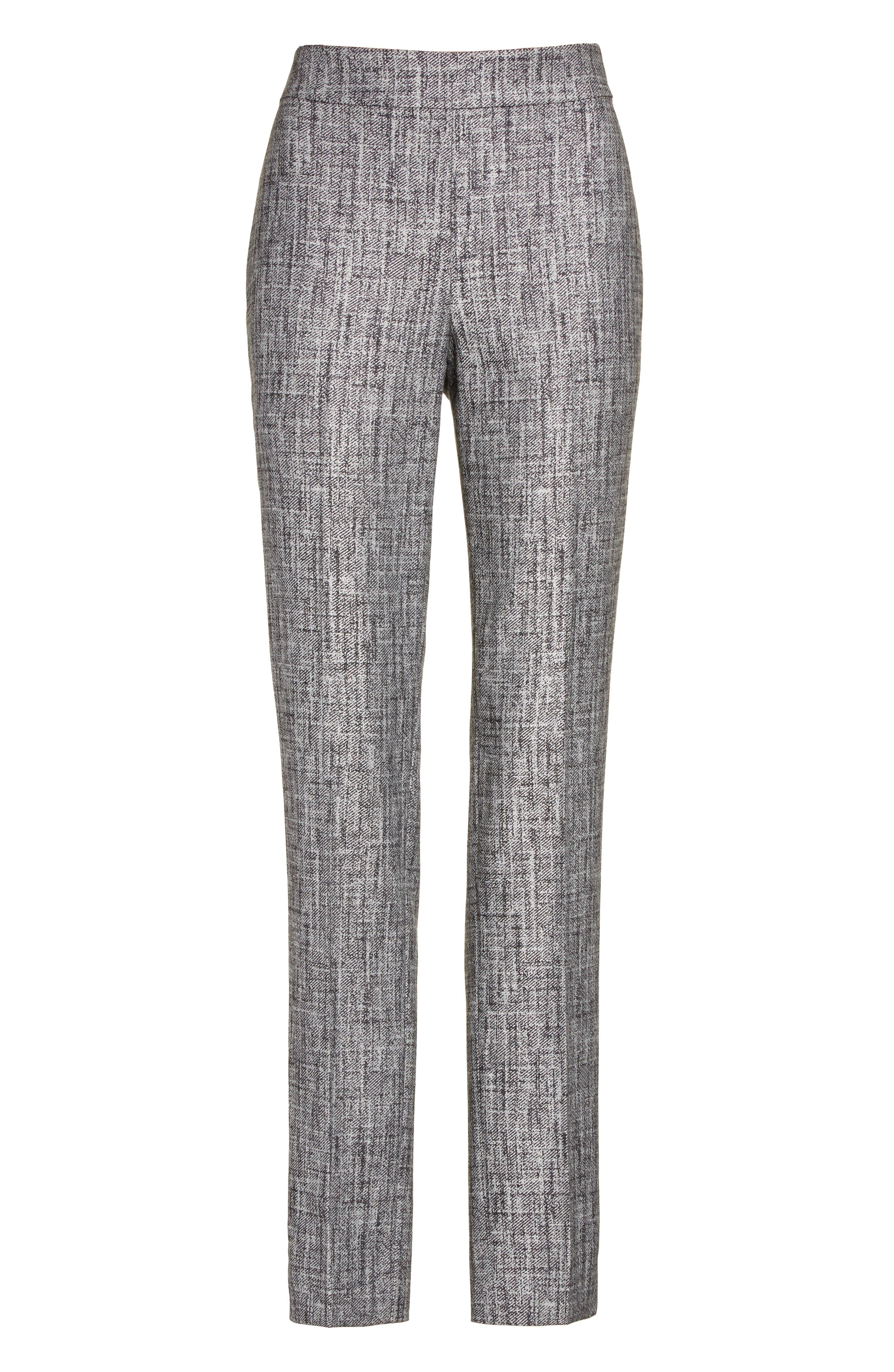 Alternate Image 6  - St. John Collection Emma Abstract Stretch Twill Pants