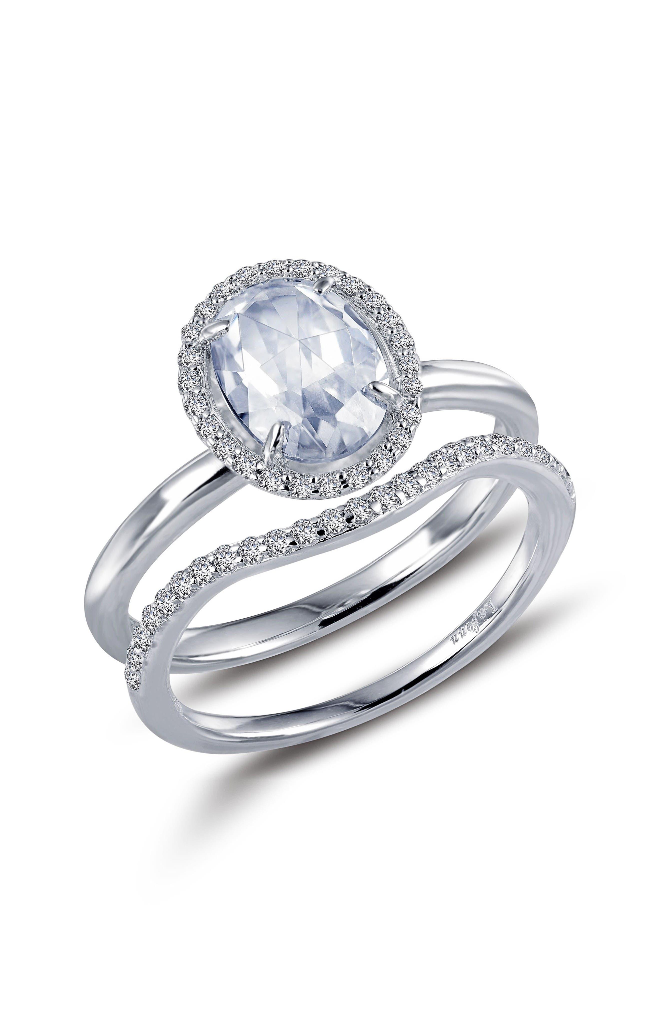 Main Image - Lafonn Rose Cut Simulated Diamond Ring