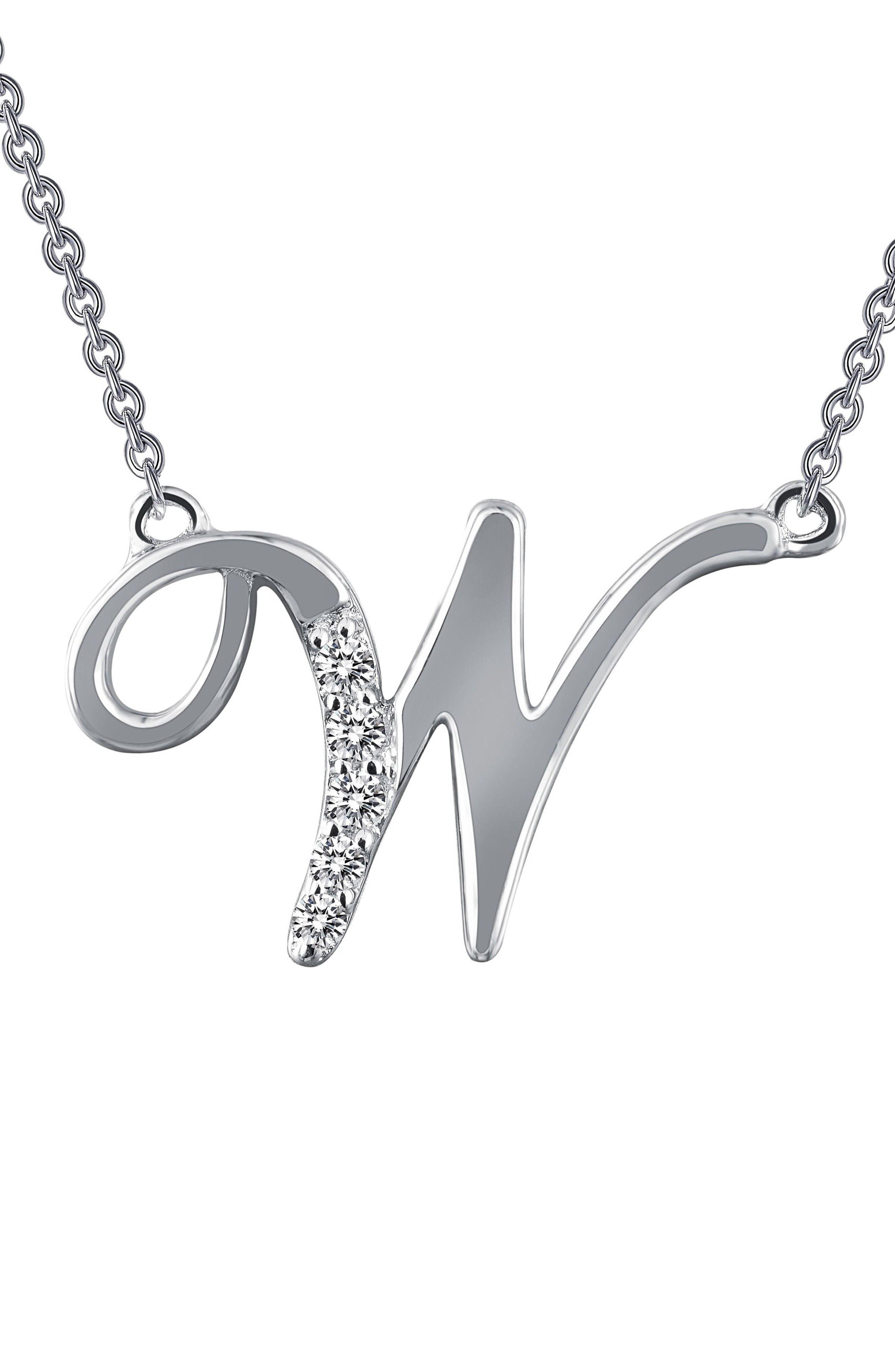 Lafonn Initial Pendant Necklace