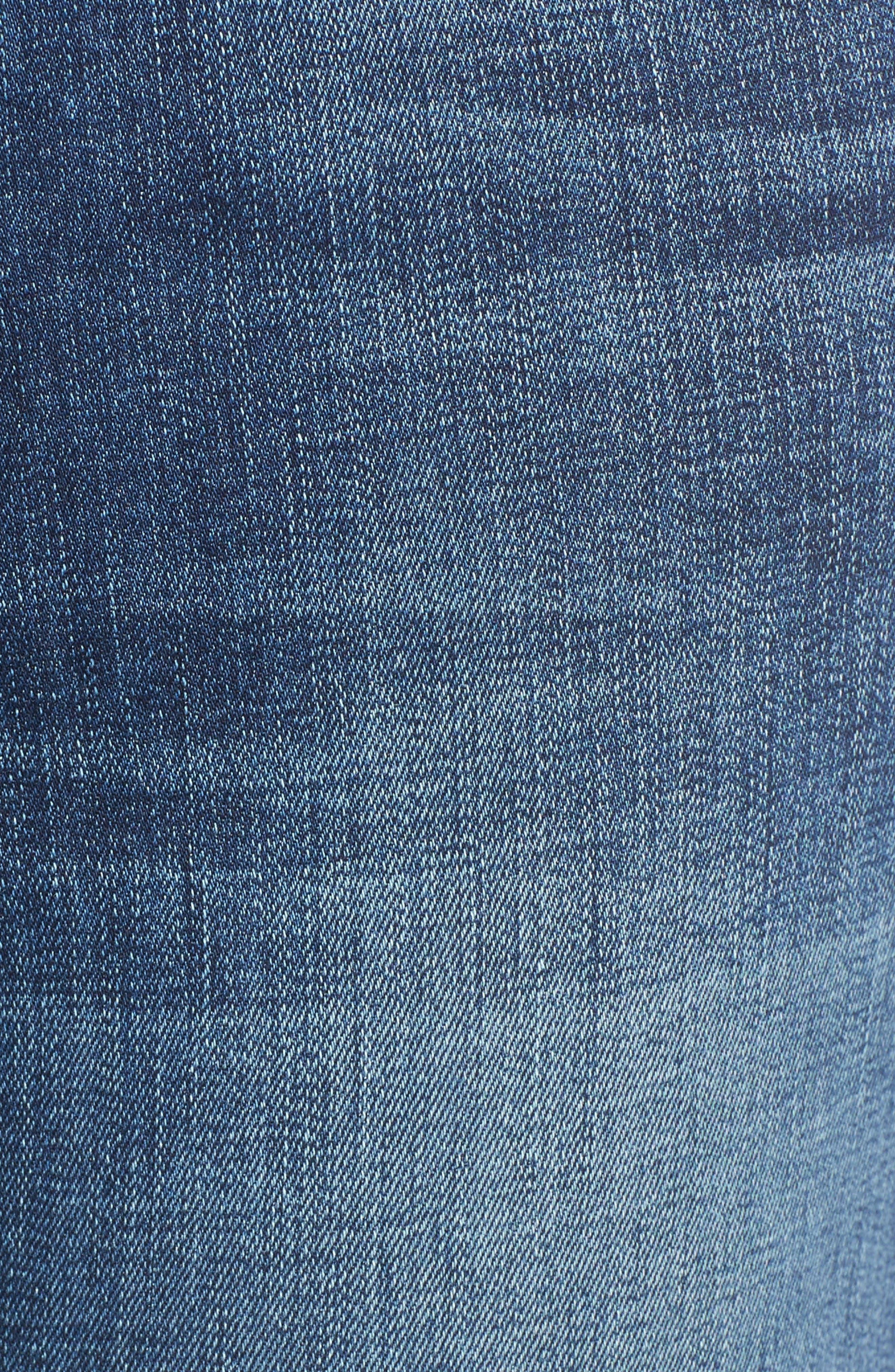 Alternate Image 5  - Joe's Markie Crop Skinny Jeans (Breanna)