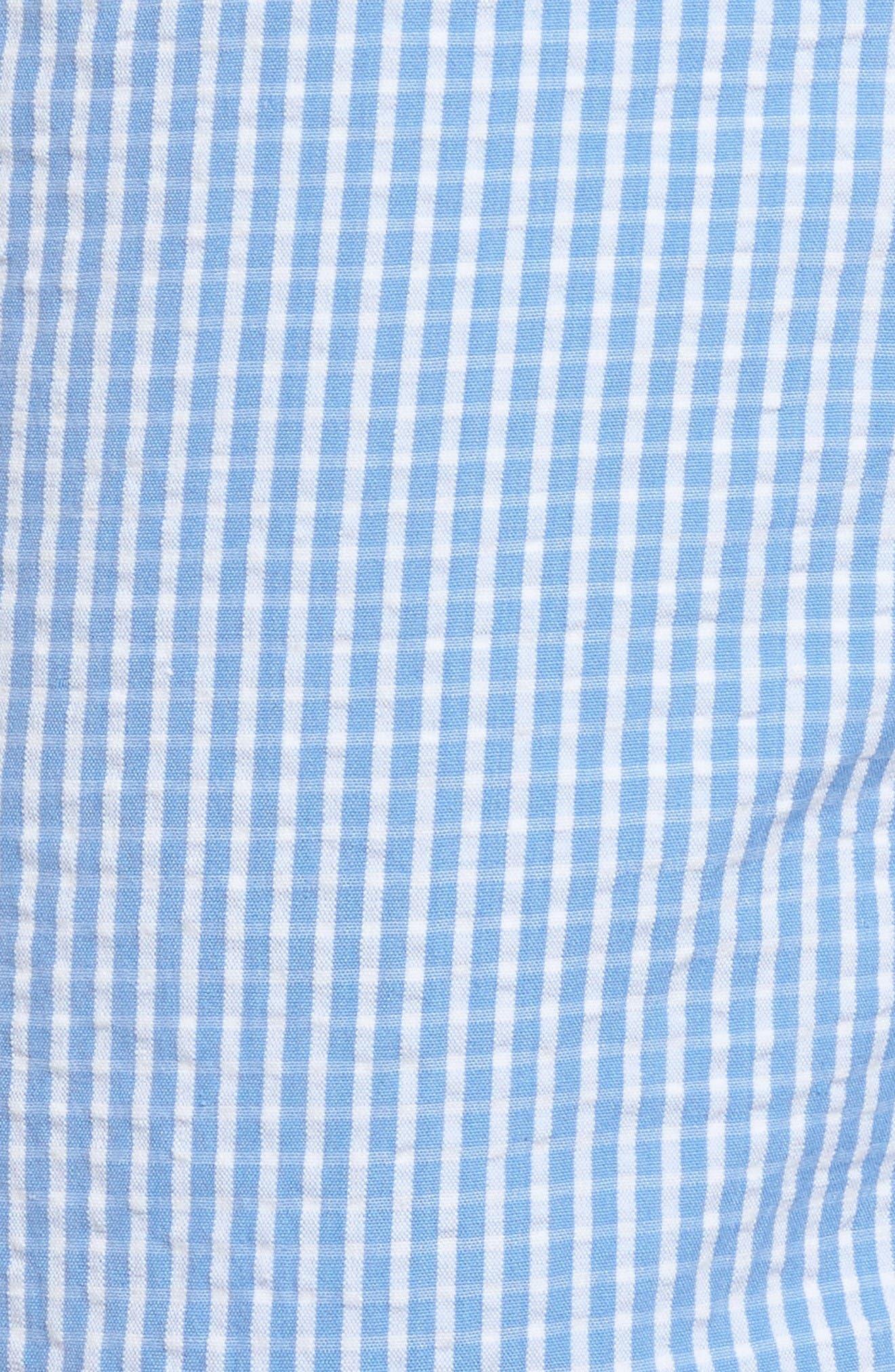 Alternate Image 5  - Vintage 1946 Stripe Seersucker Shorts