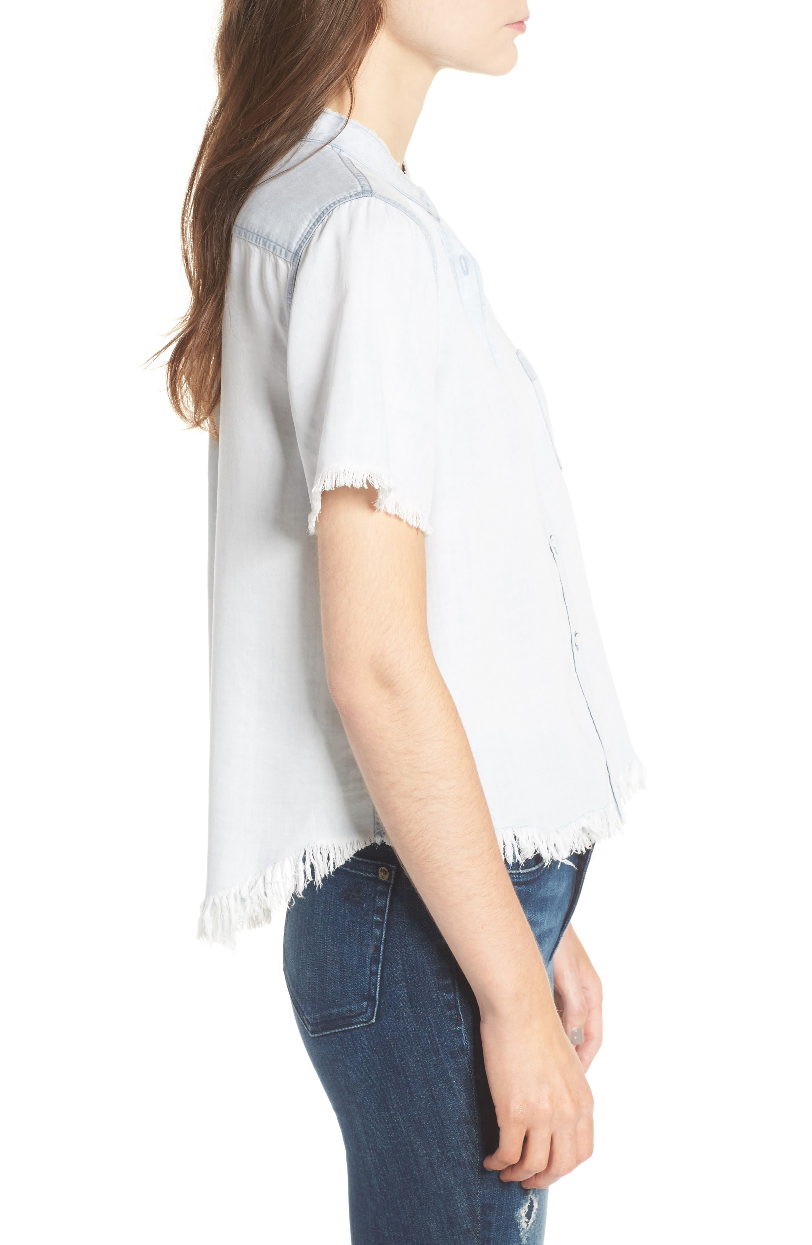 Montauk Shirt,                             Alternate thumbnail 3, color,                             Bleached