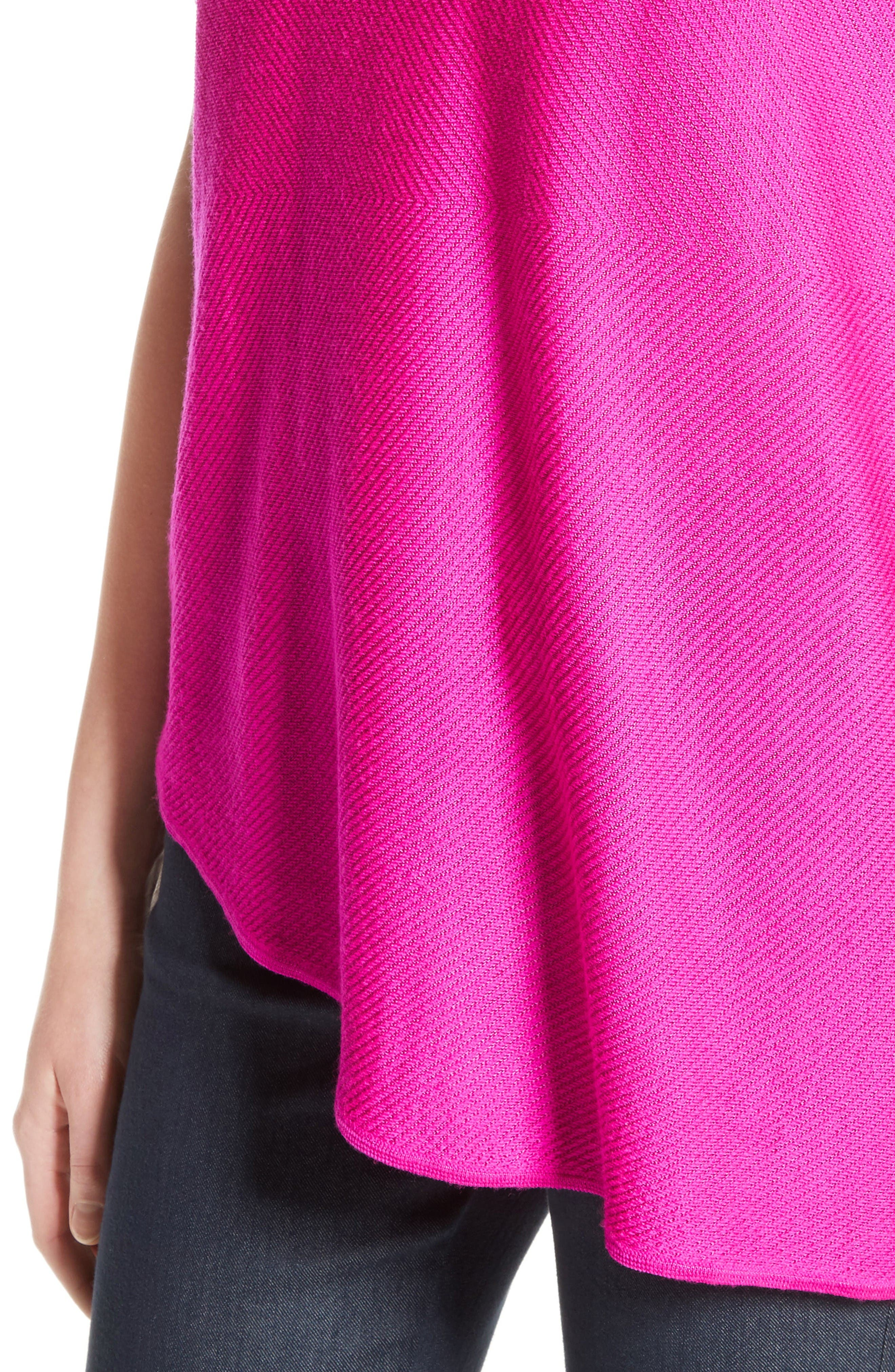 Alternate Image 4  - St. John Collection Matte Shine Weave Knit Tunic