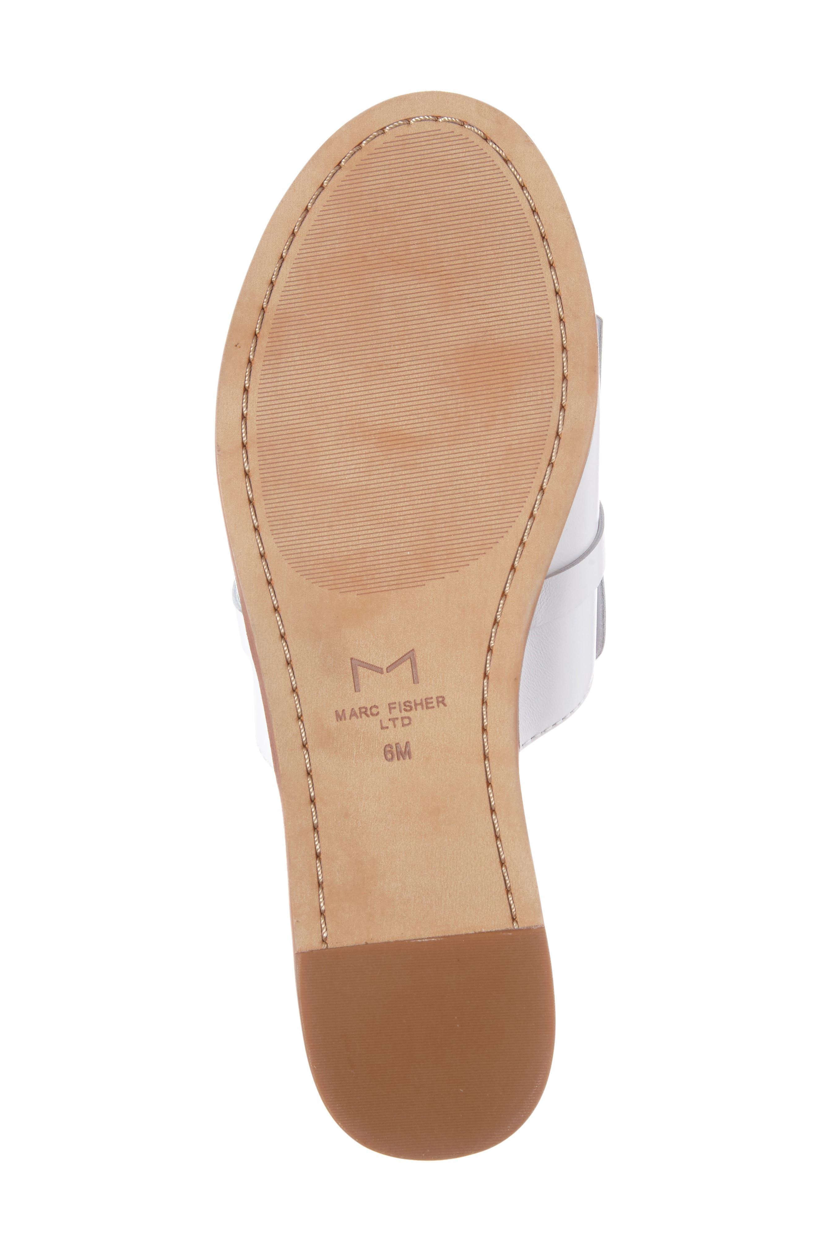 Alternate Image 4  - Marc Fisher LTD Whitley Slide Sandal (Women)