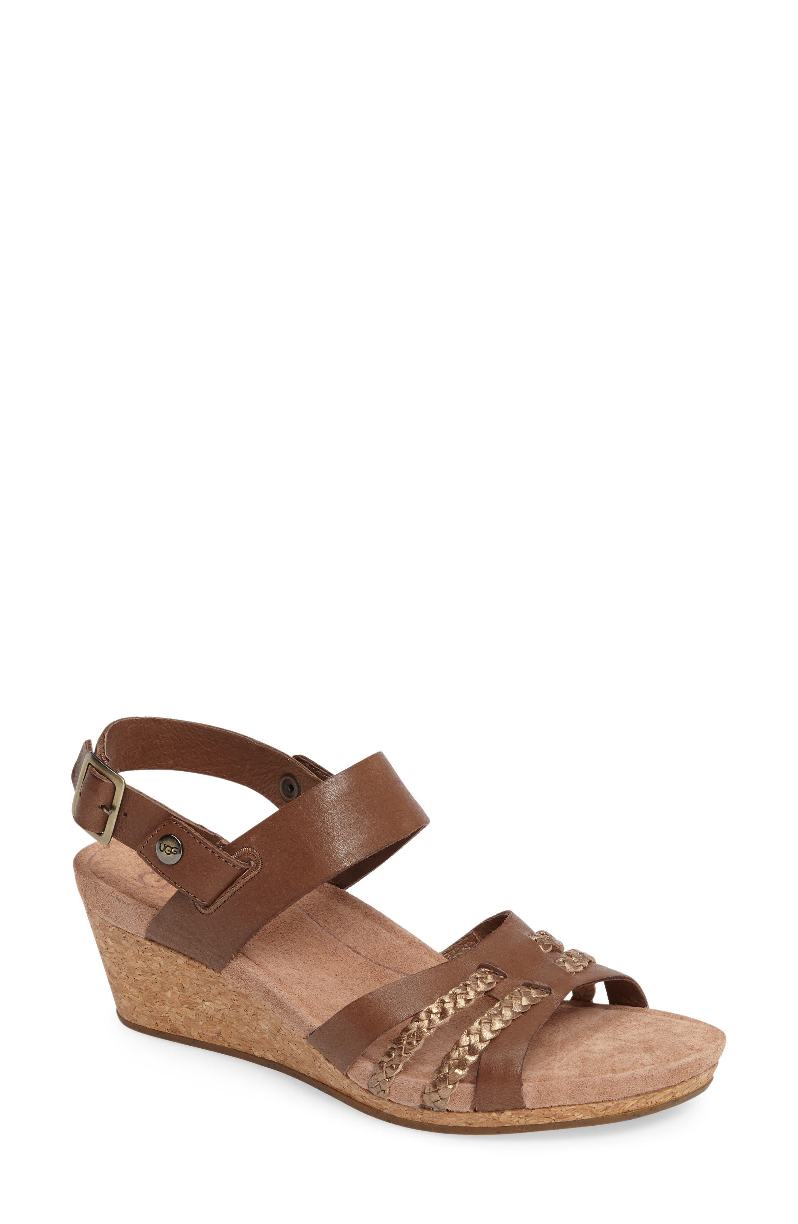 UGG® Serinda Wedge Sandal (Women)
