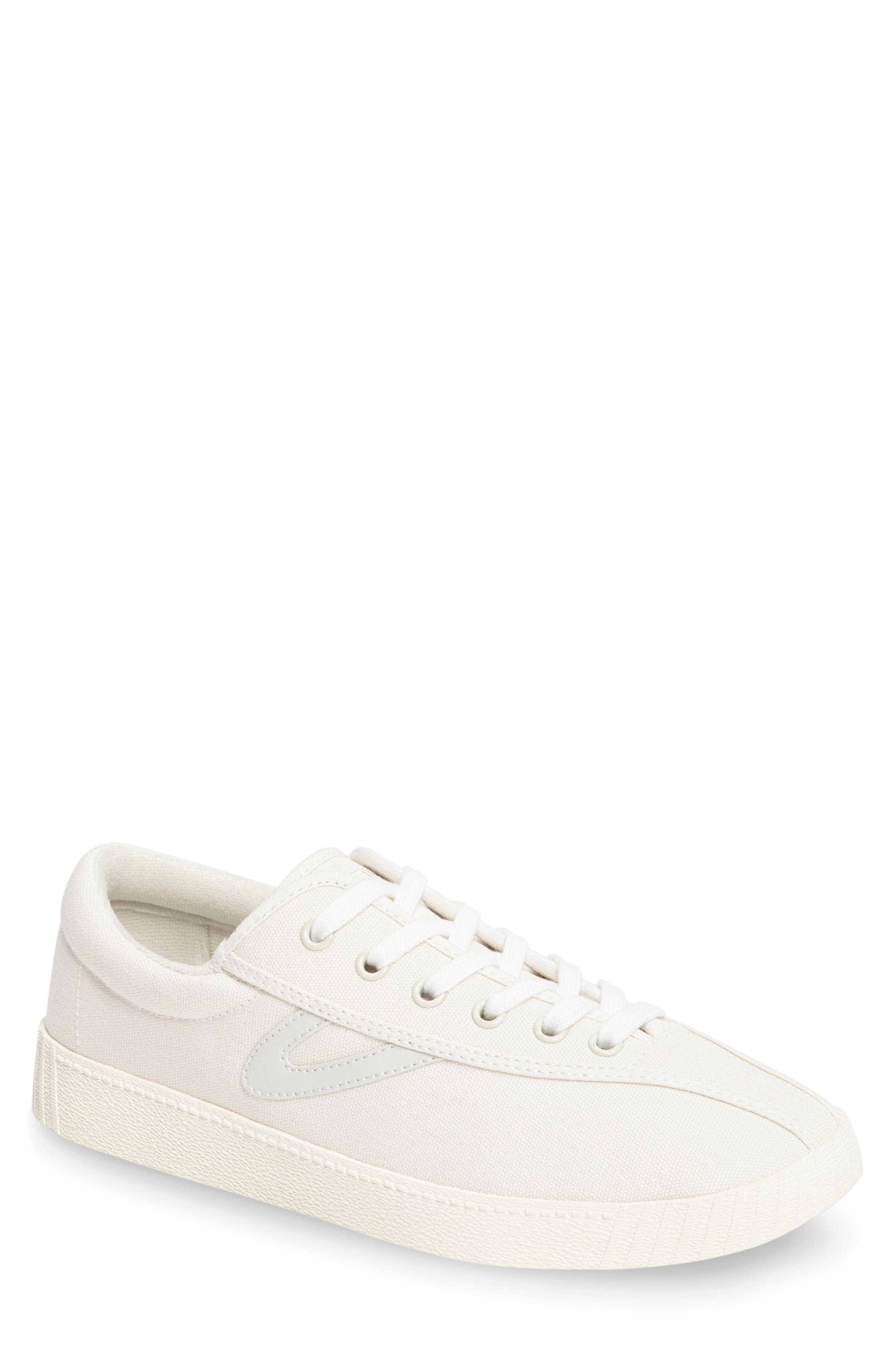 Nylite Plus Sneaker,                         Main,                         color, White/ White/ White Canvas