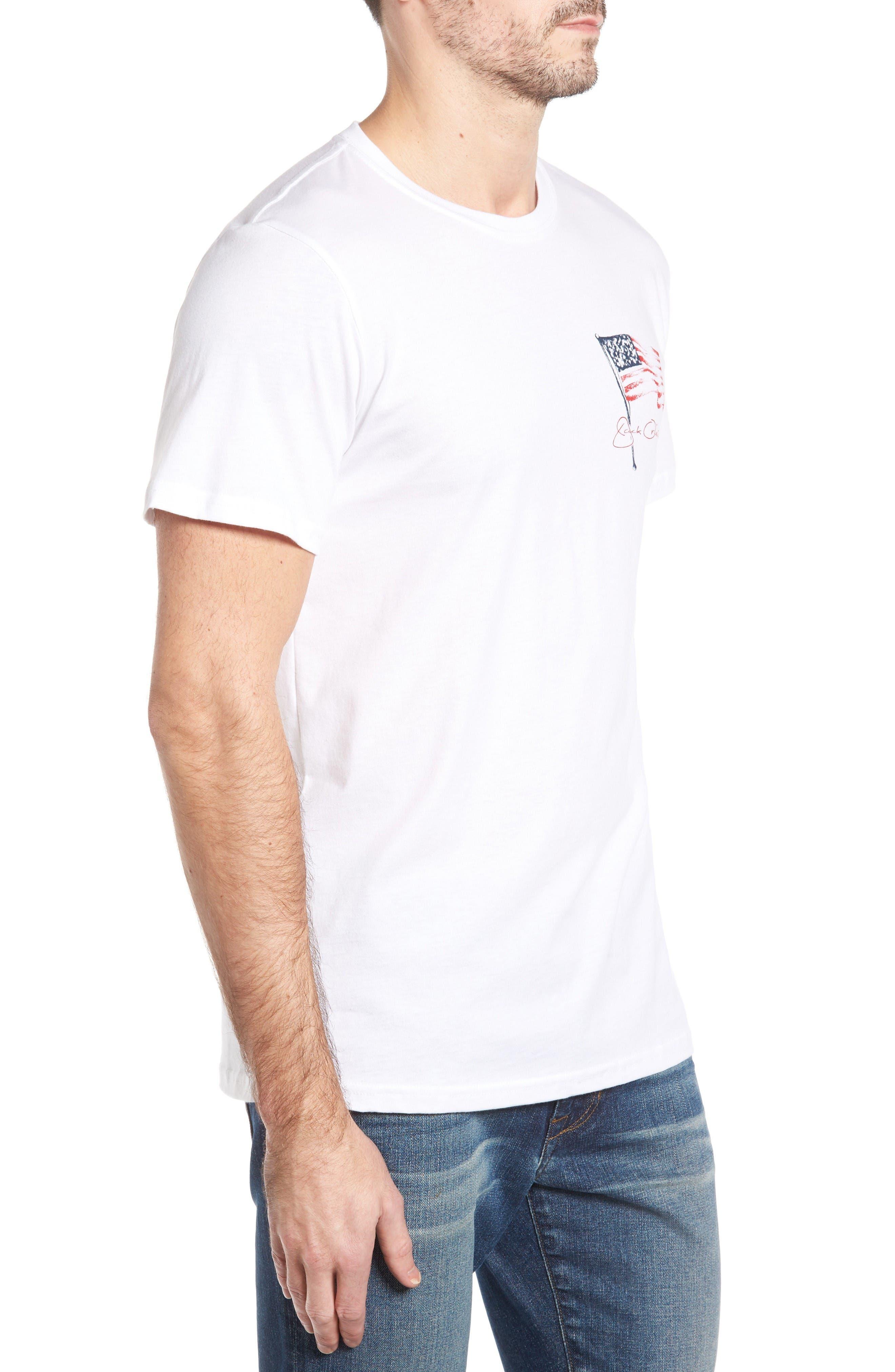 Freedom T-Shirt,                             Alternate thumbnail 3, color,                             White