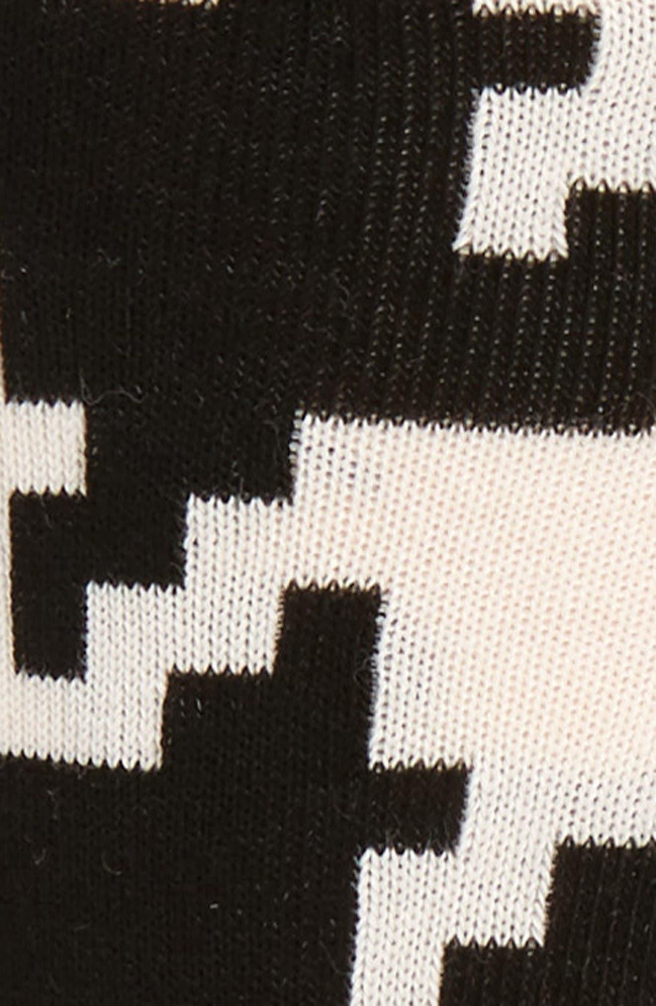 Alternate Image 2  - Happy Socks Digital Houndstooth Socks