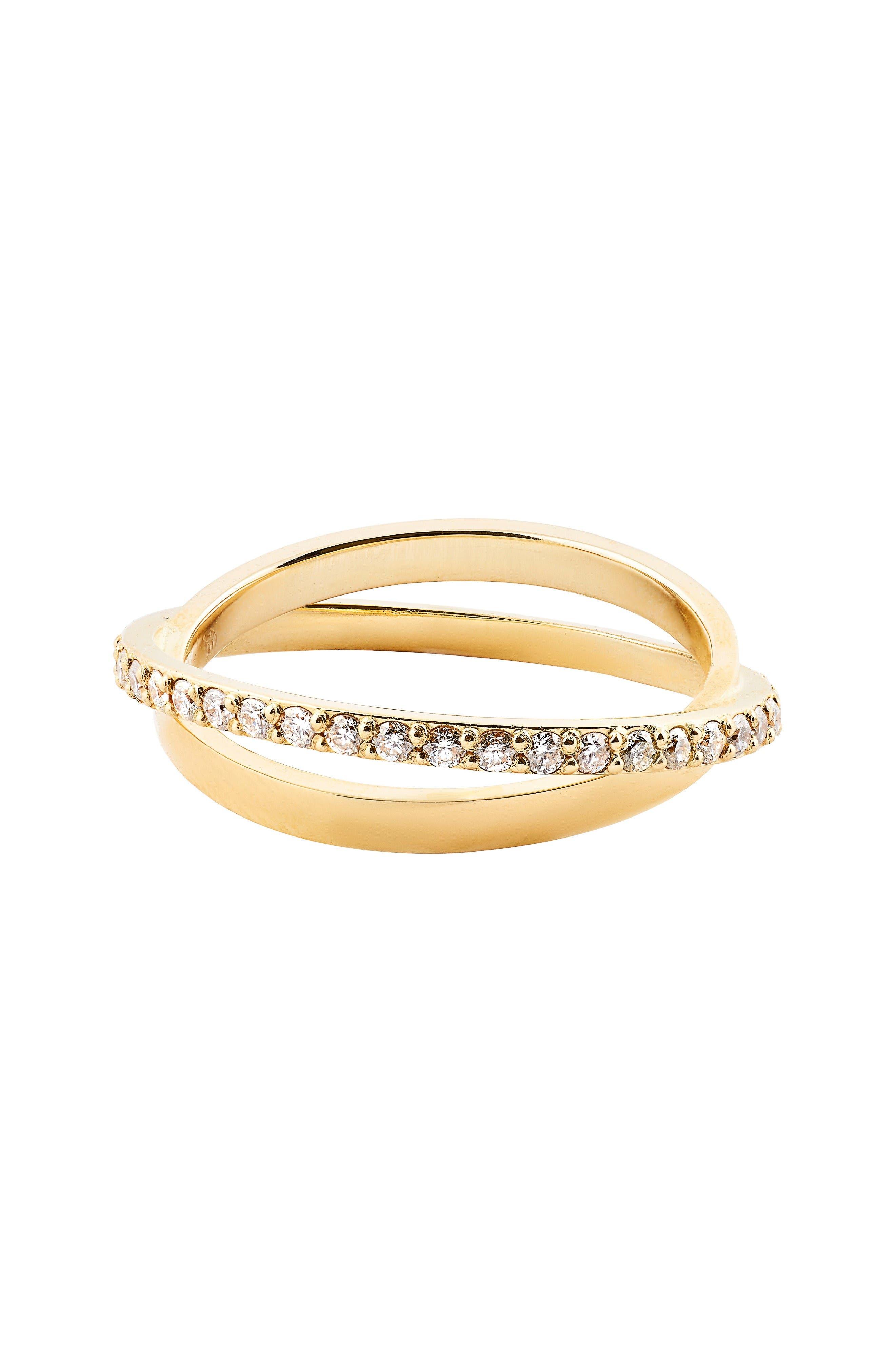 Lana Jewelry Flawless Diamond Twist Ring