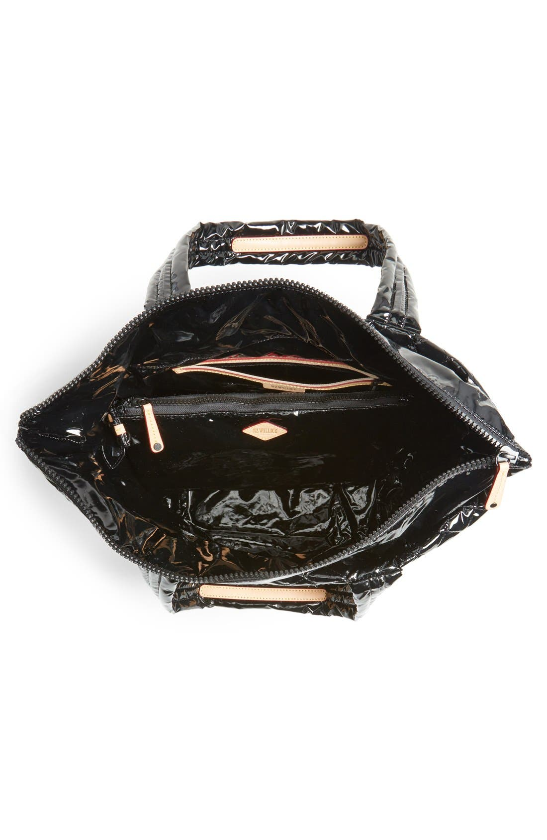 Alternate Image 4  - MZ Wallace 'Medium Metro' Quilted Lacquer Tote