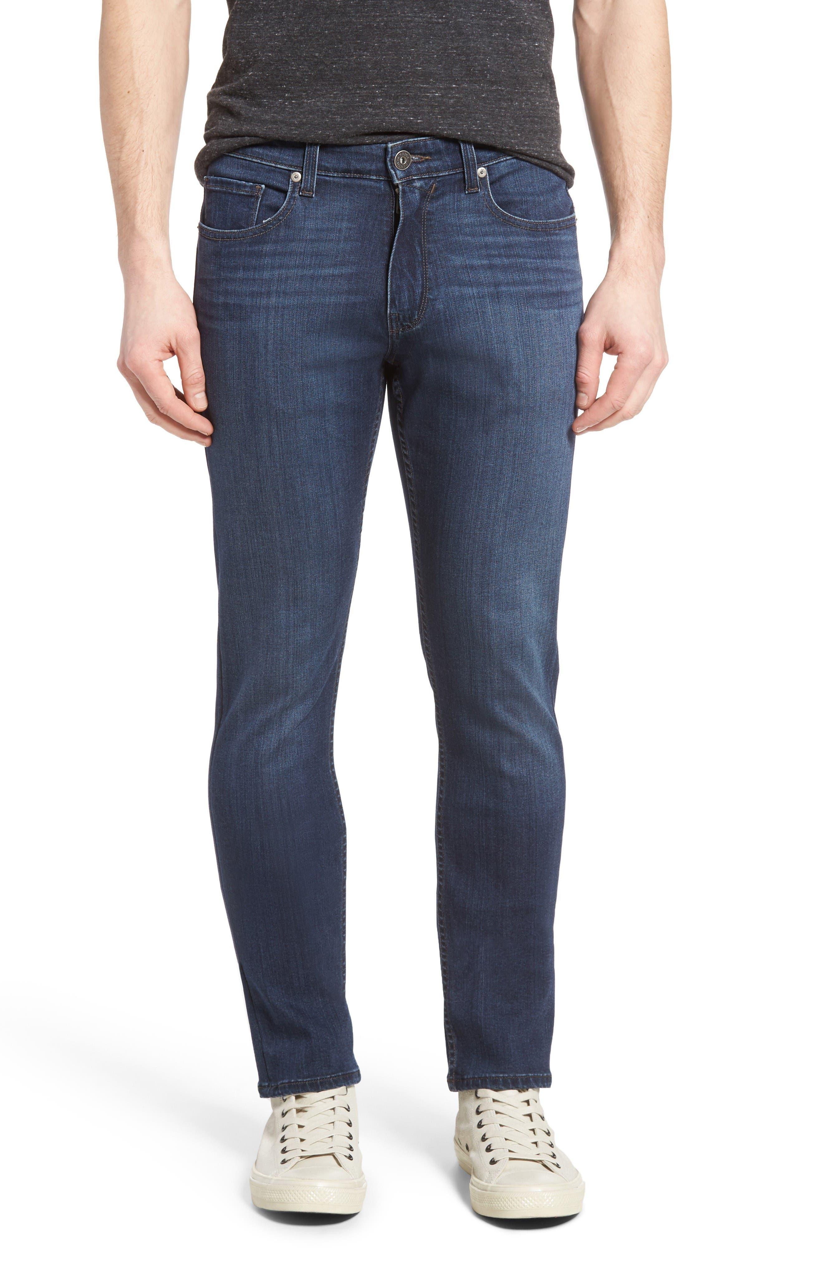 PAIGE Transcend - Lennox Slim Fit Jeans (Rainier)