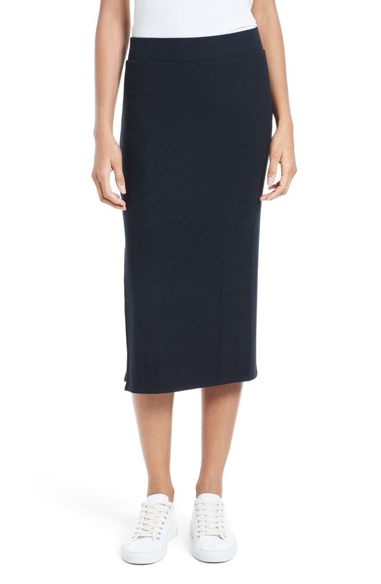 Side Slit Tube Skirt