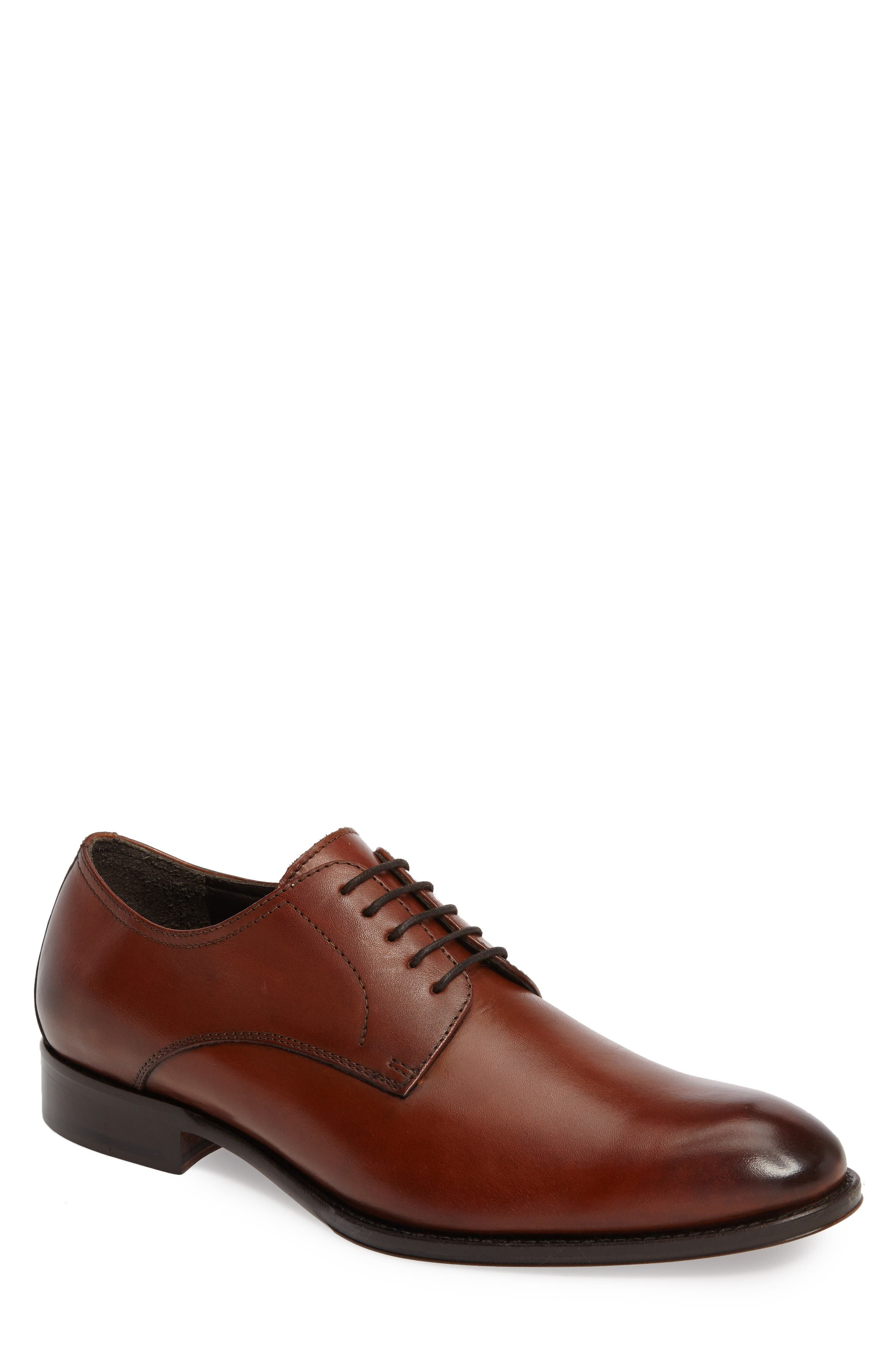 John W. Nordstrom® Moreto Plain Toe Derby (Men)