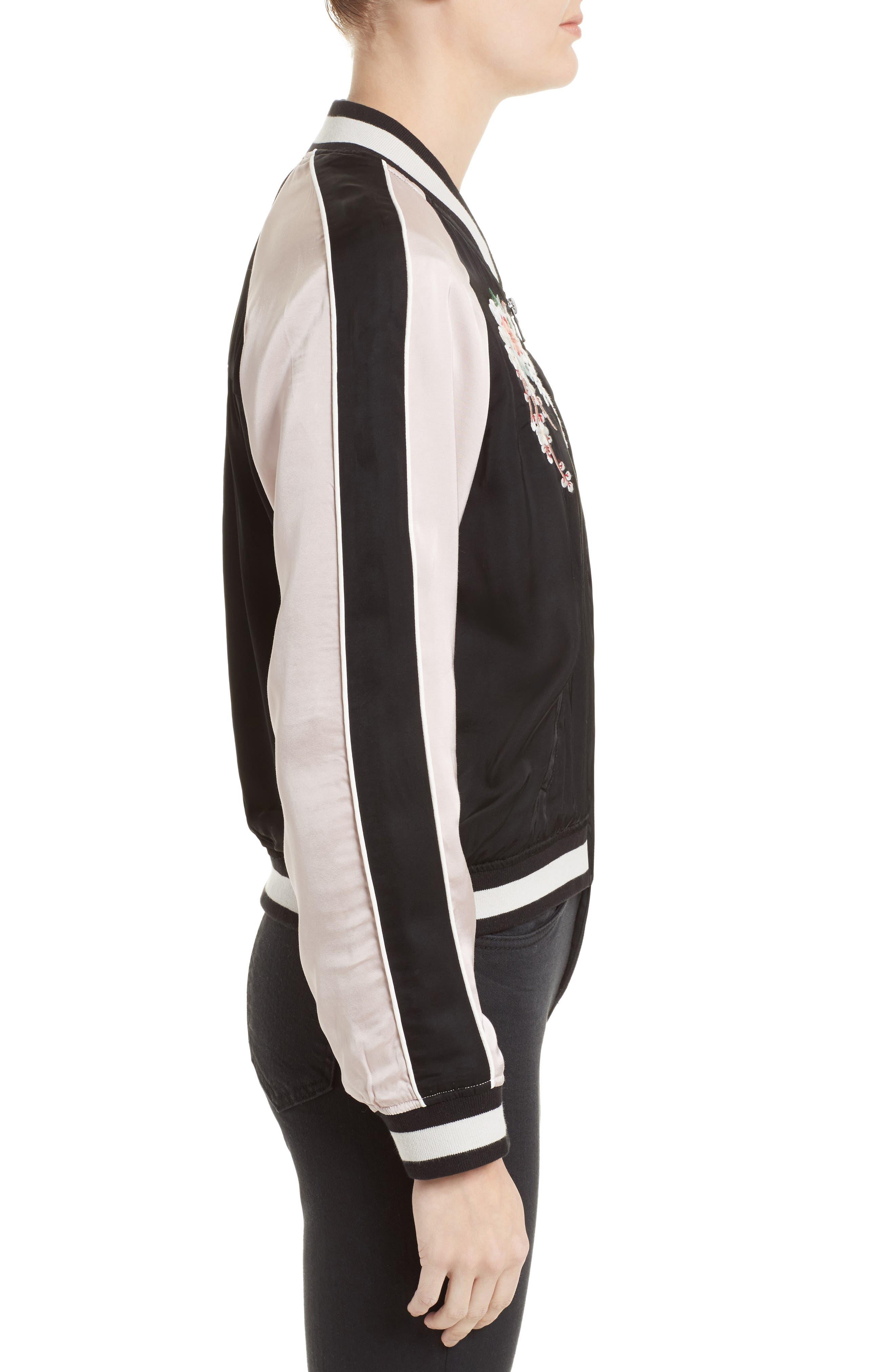 Alternate Image 3  - Joie Juanita Embroidered Bomber Jacket
