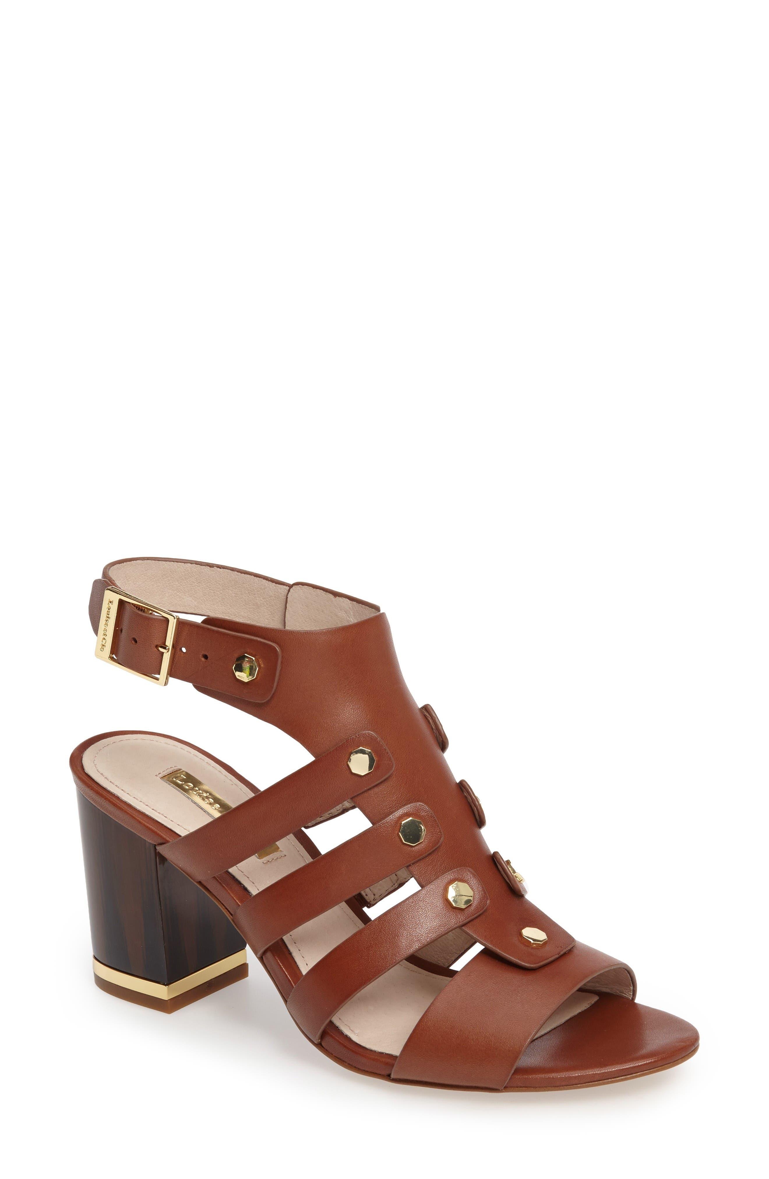 Alternate Image 1 Selected - Louise et Cie Vira Block Heel Sandal (Women)