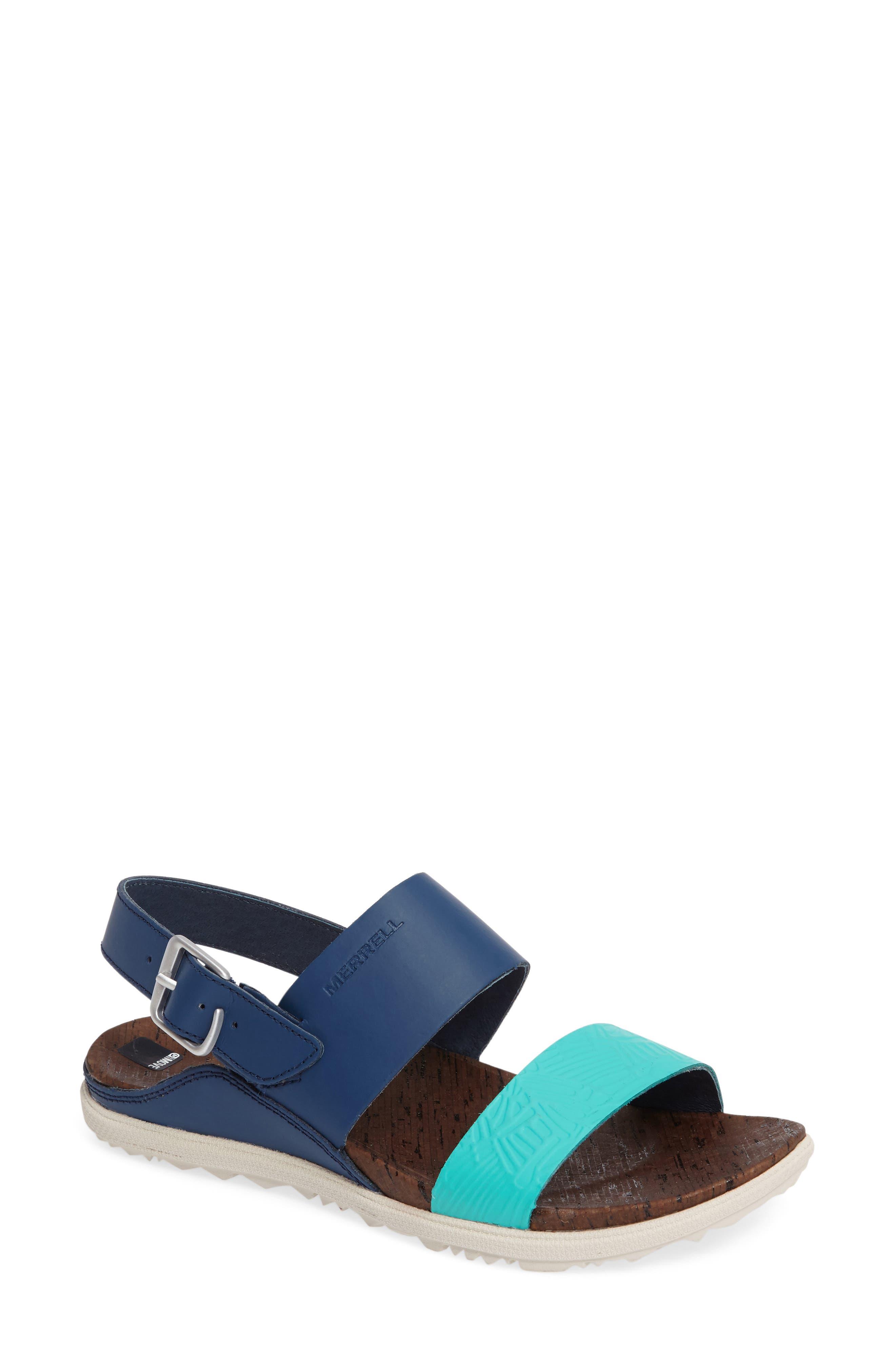 Alternate Image 1 Selected - Merrell 'Around Town' Slingback Sandal (Women)