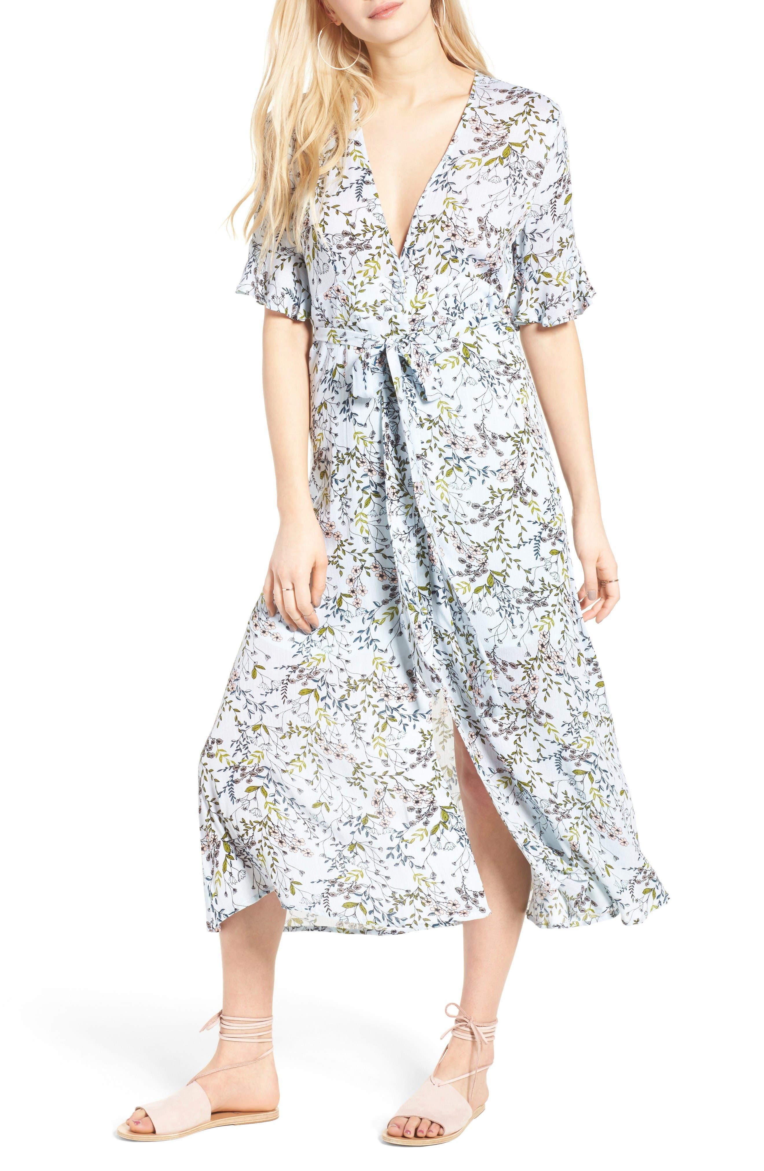 Main Image - Somedays Lovin Woodland Days Midi Dress