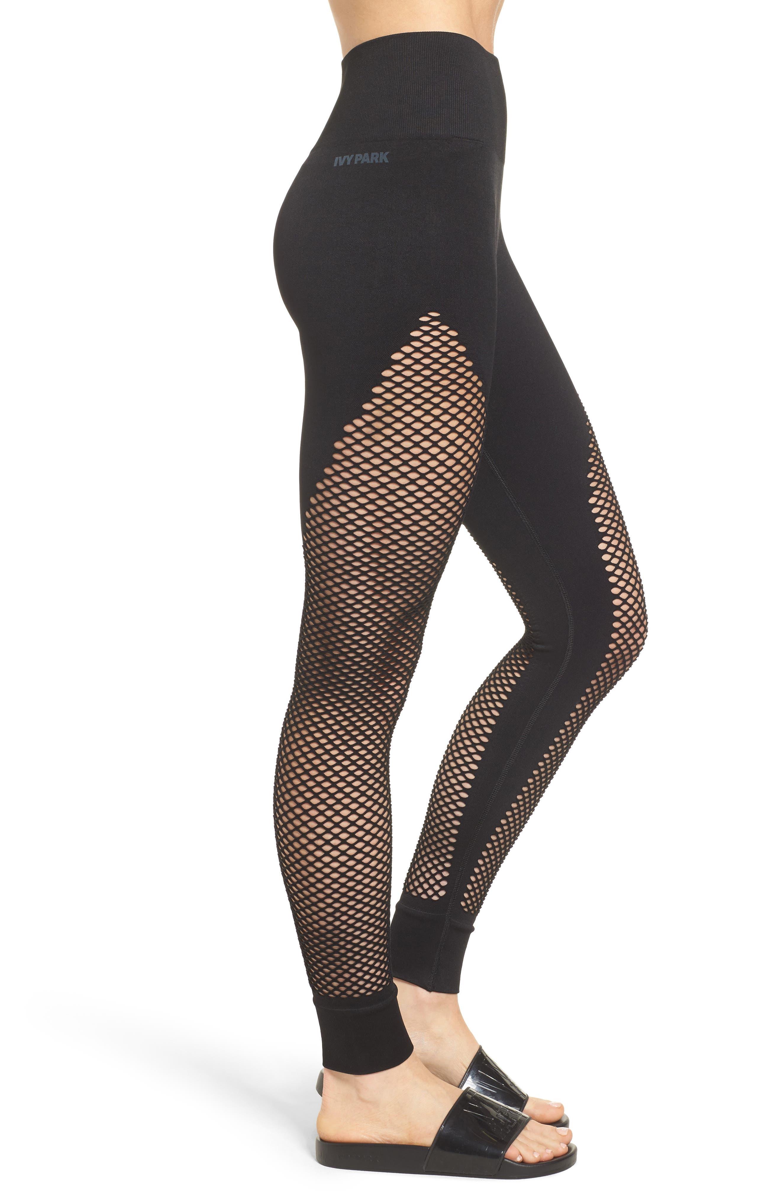 Alternate Image 3  - IVY PARK® Fishnet Leggings