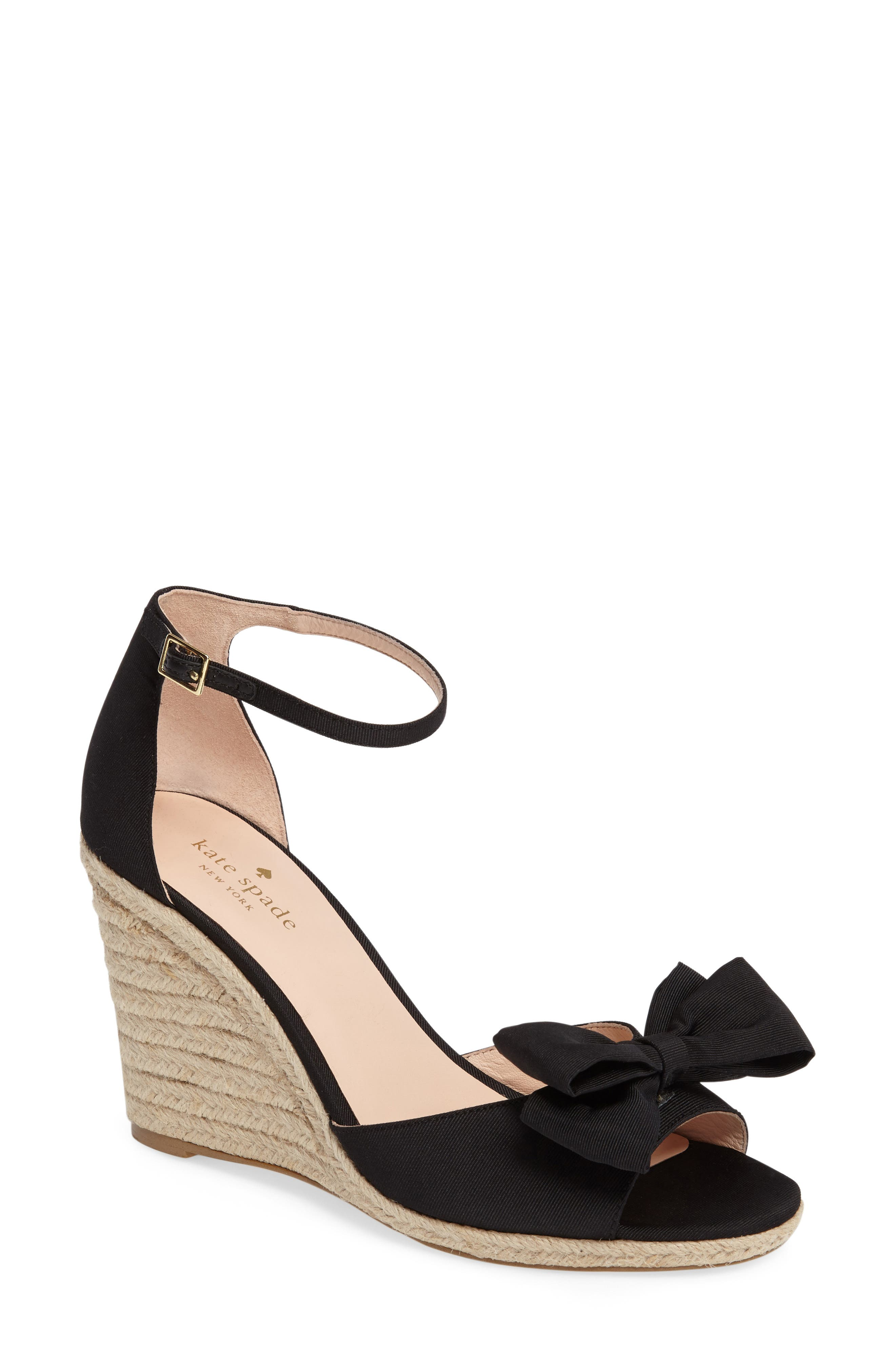 Alternate Image 1 Selected - kate spade new york broome wedge sandal (Women)